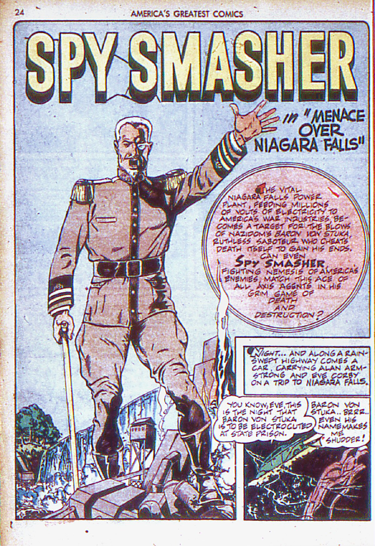 Read online America's Greatest Comics comic -  Issue #6 - 25