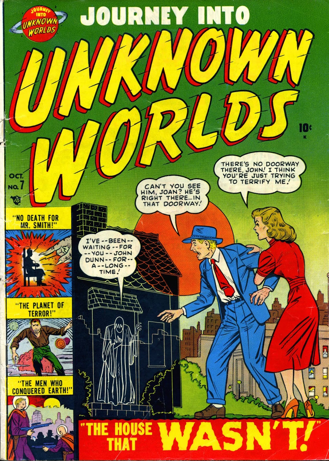 Journey Into Unknown Worlds (1950) issue 7 - Page 1