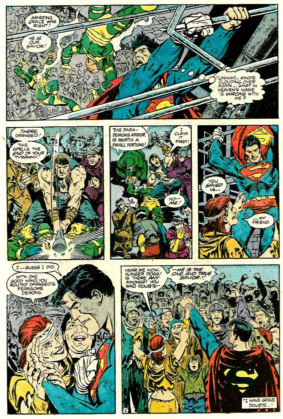 Read online Adventures of Superman (1987) comic -  Issue #426 - 13