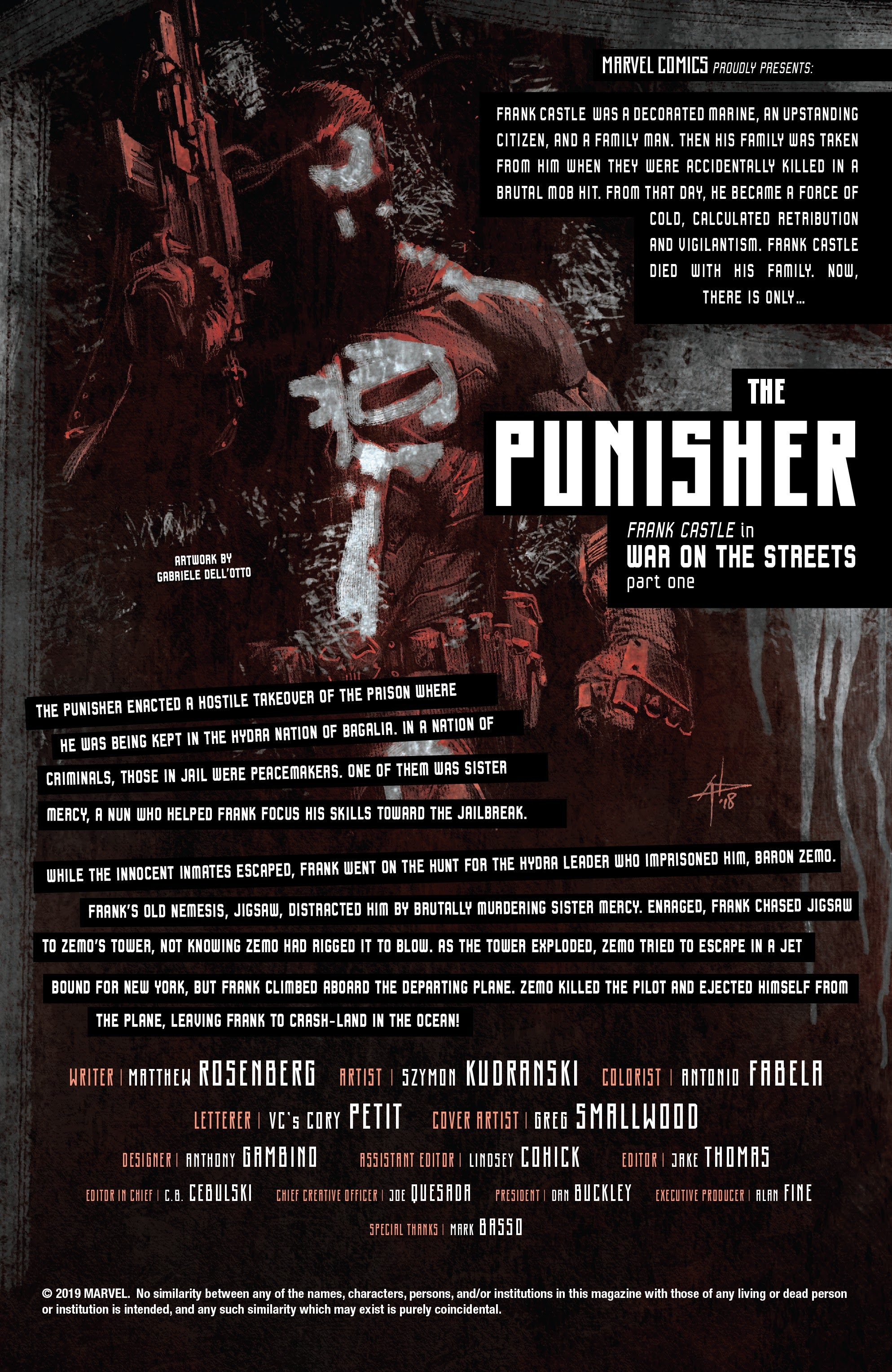 Read online The Punisher (2018) comic -  Issue #12 - 2