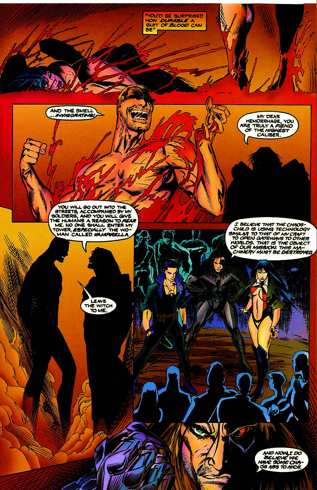 Read online Chains of Chaos comic -  Issue #3 - 11