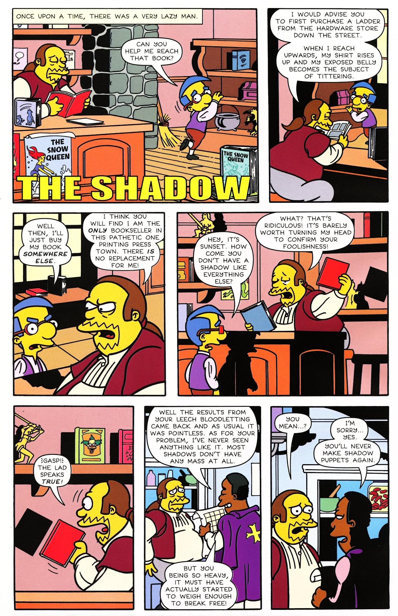 Read online Simpsons Comics comic -  Issue #148 - 16