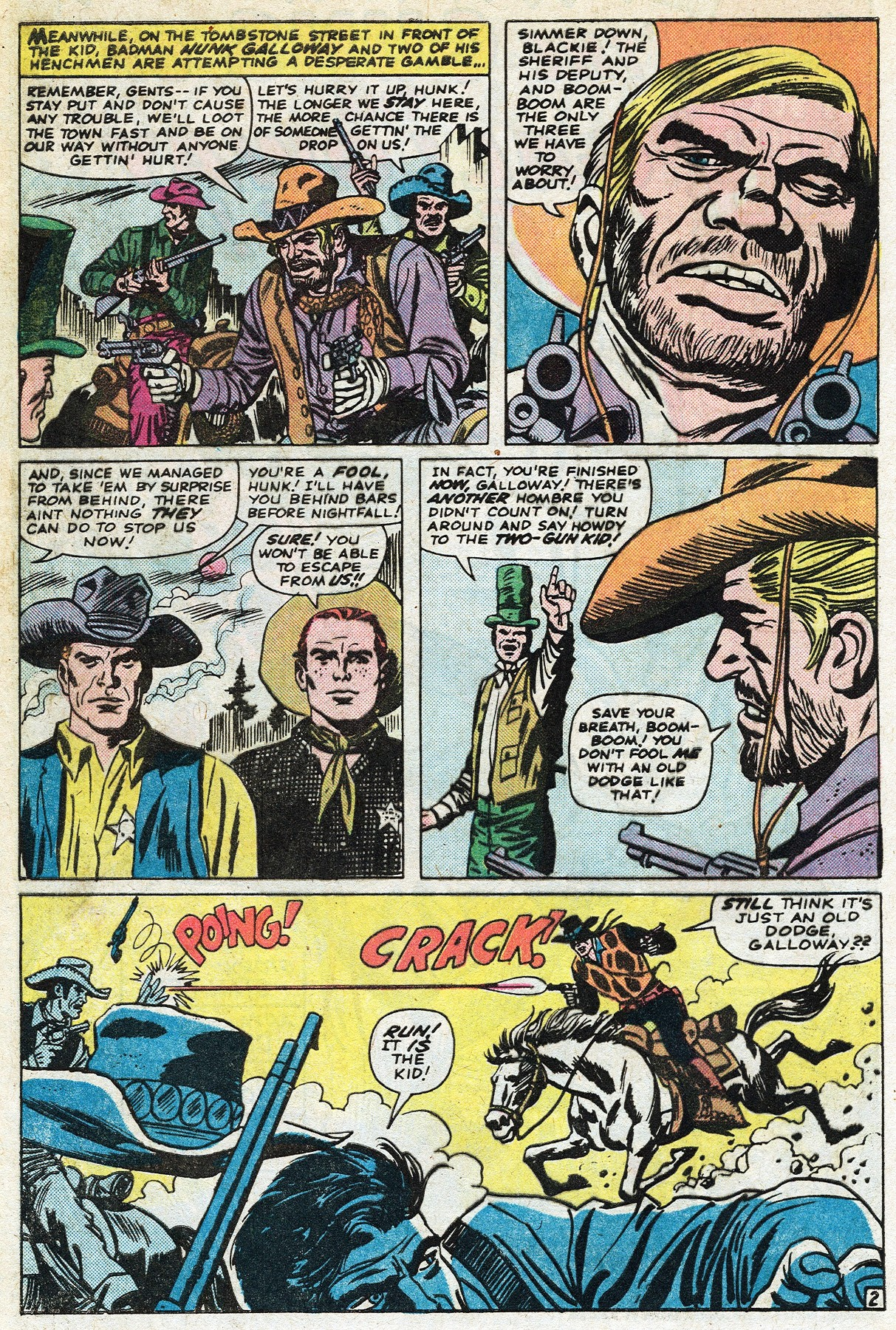 Read online Two-Gun Kid comic -  Issue #122 - 4