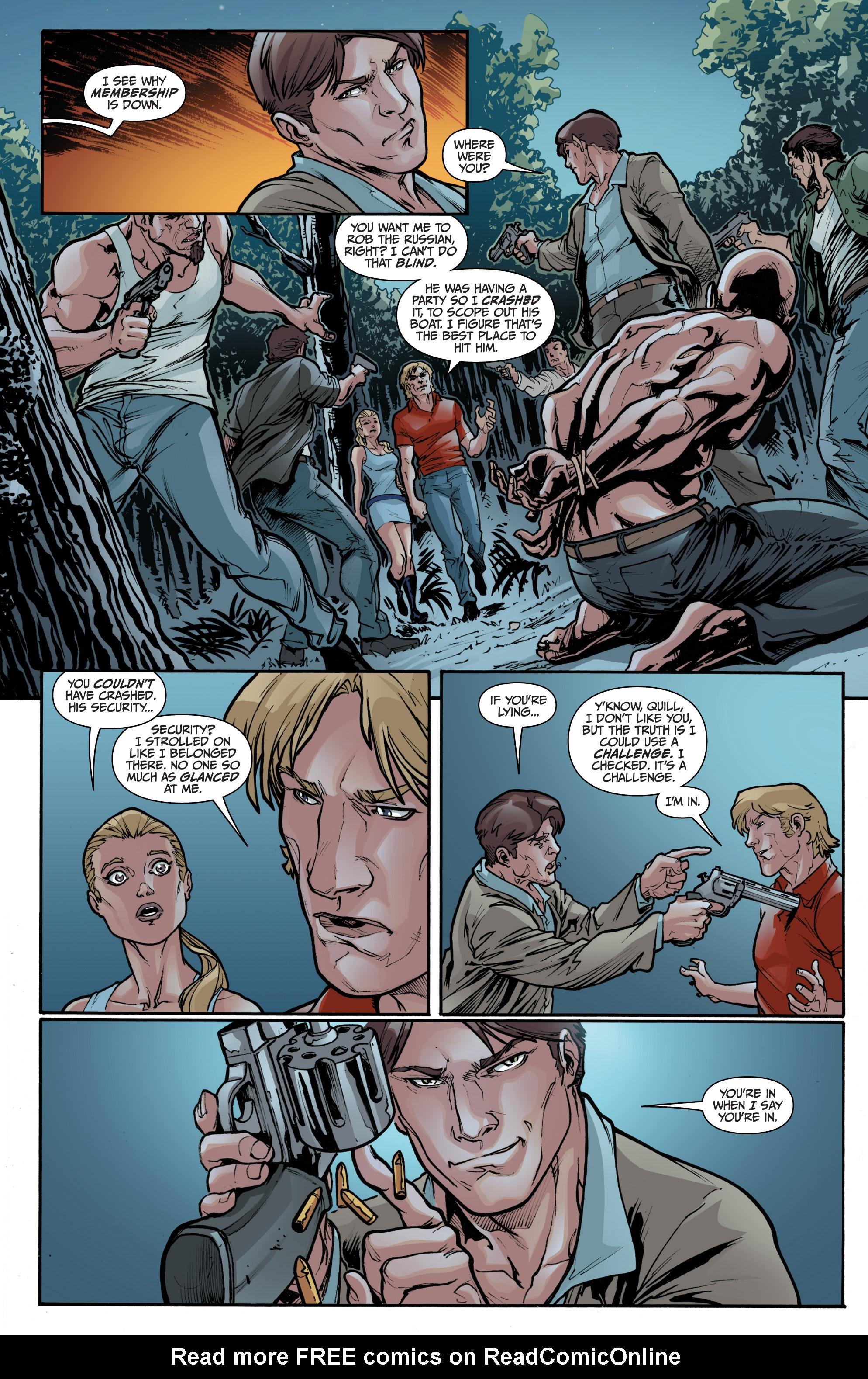 Read online 3 Guns comic -  Issue #1 - 19
