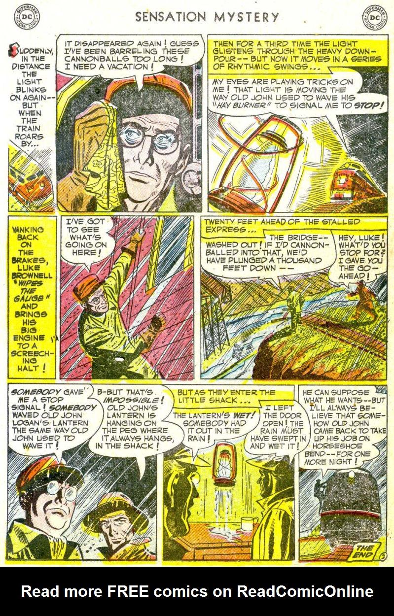 Read online Sensation (Mystery) Comics comic -  Issue #113 - 21