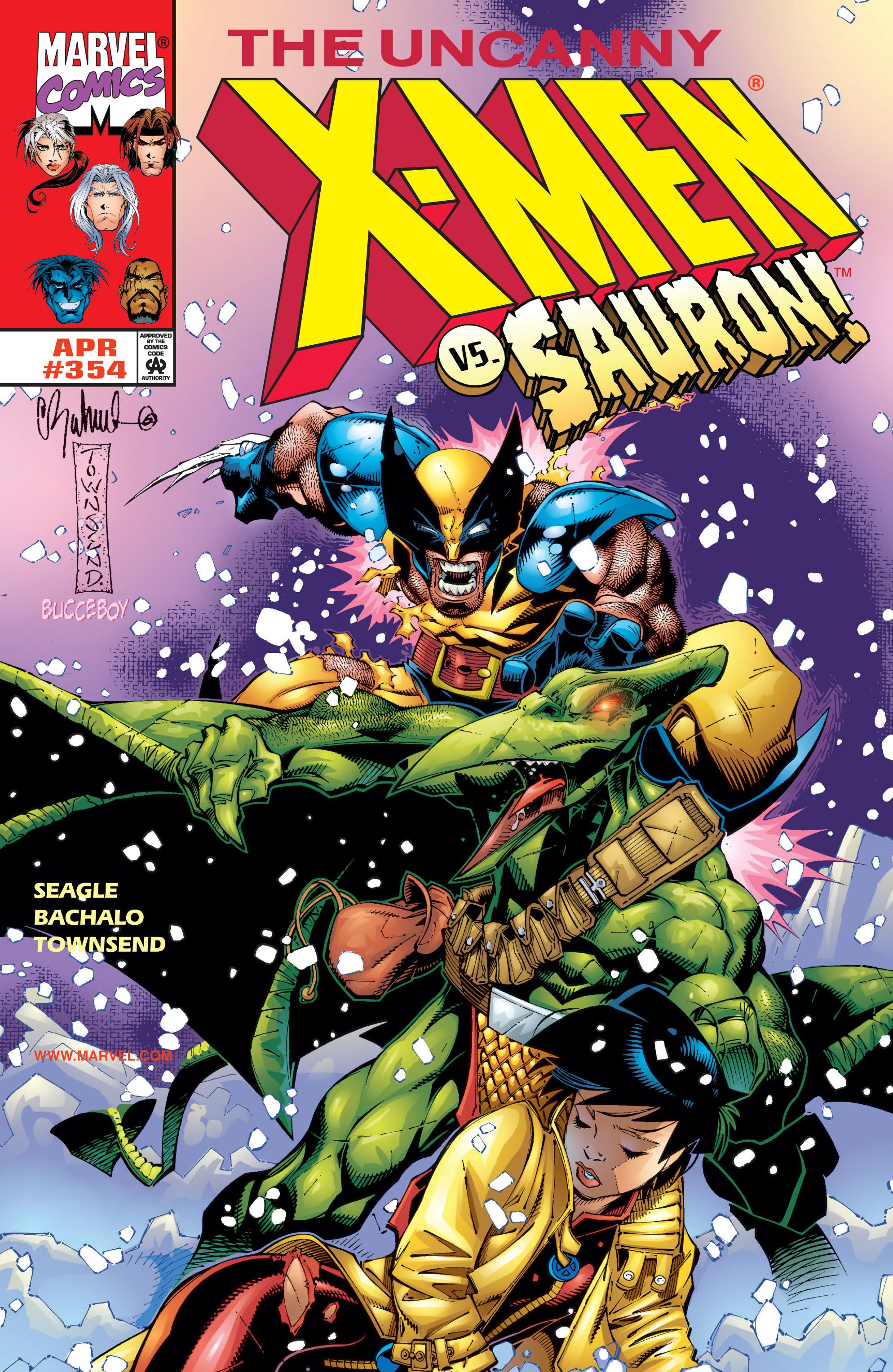 Uncanny X-Men (1963) 354 Page 1