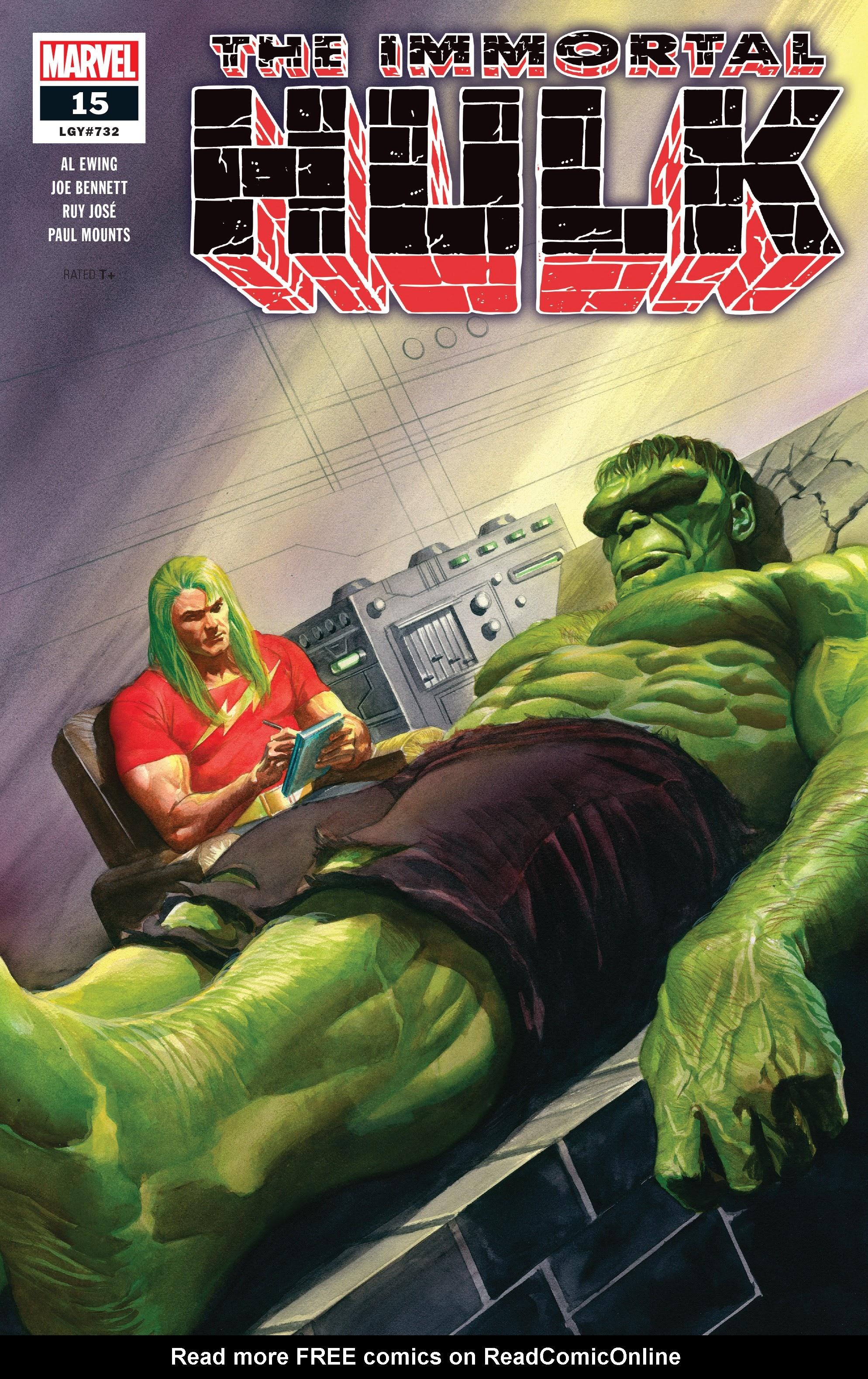Immortal Hulk (2018) issue 15 - Page 1
