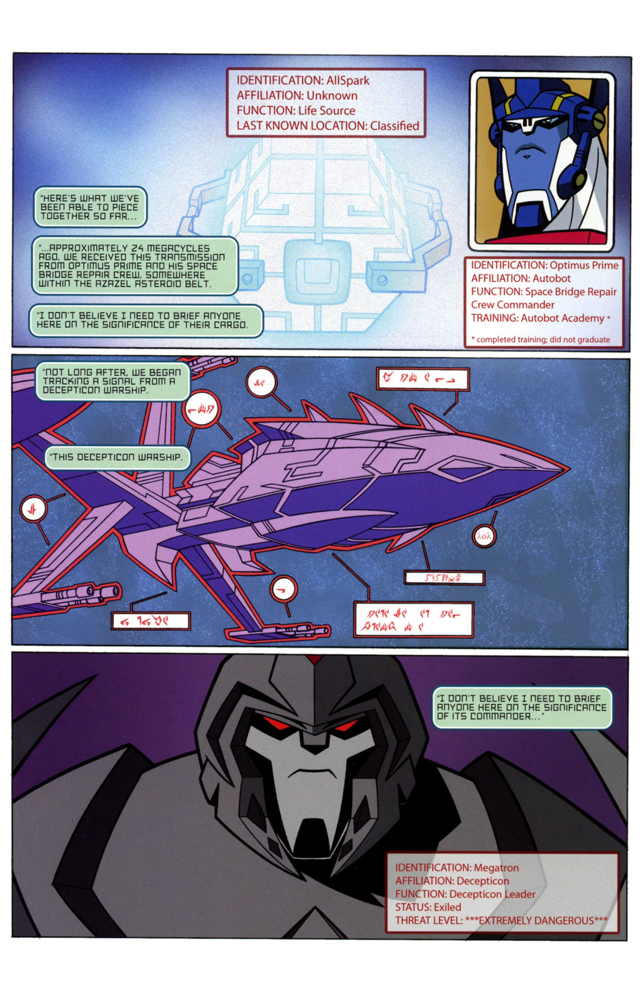 Read online Transformers Animated: The Arrival comic -  Issue #1 - 4