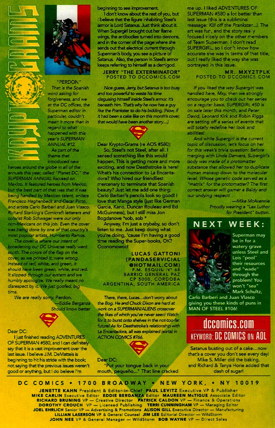Read online Adventures of Superman (1987) comic -  Issue #584 - 24