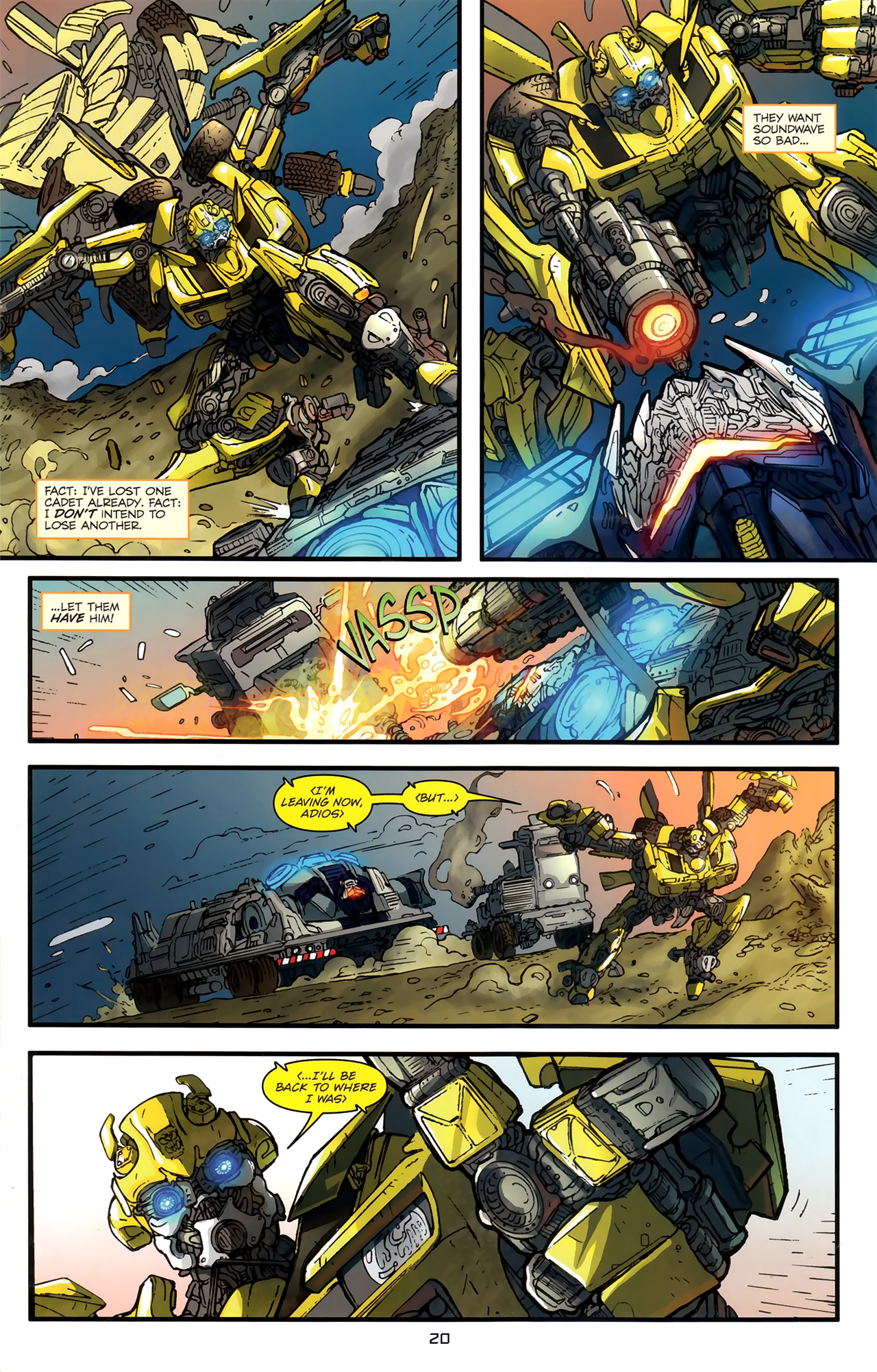 Read online Transformers: Nefarious comic -  Issue #3 - 23