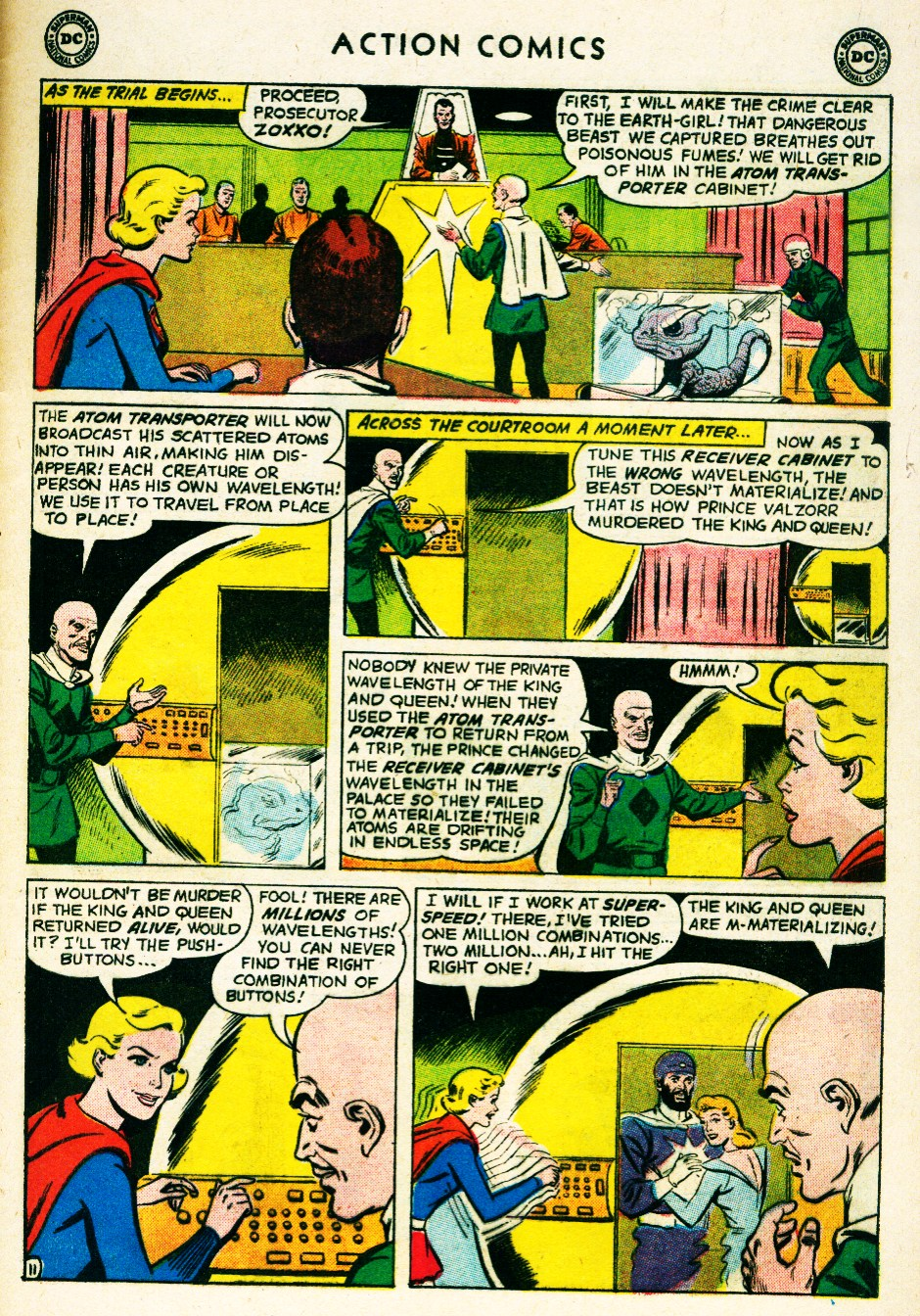 Read online Action Comics (1938) comic -  Issue #263 - 29