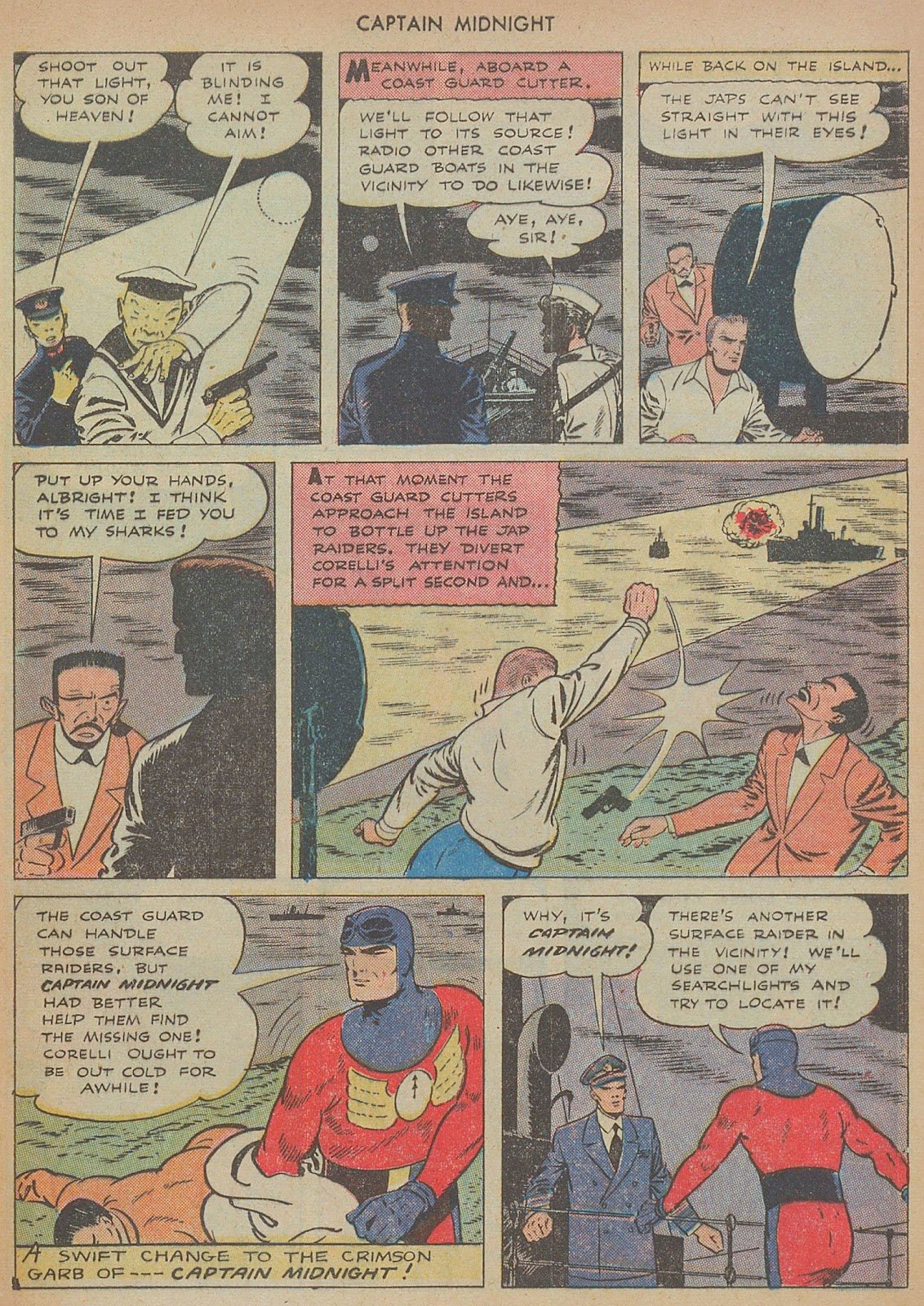 Captain Midnight (1942) issue 29 - Page 9