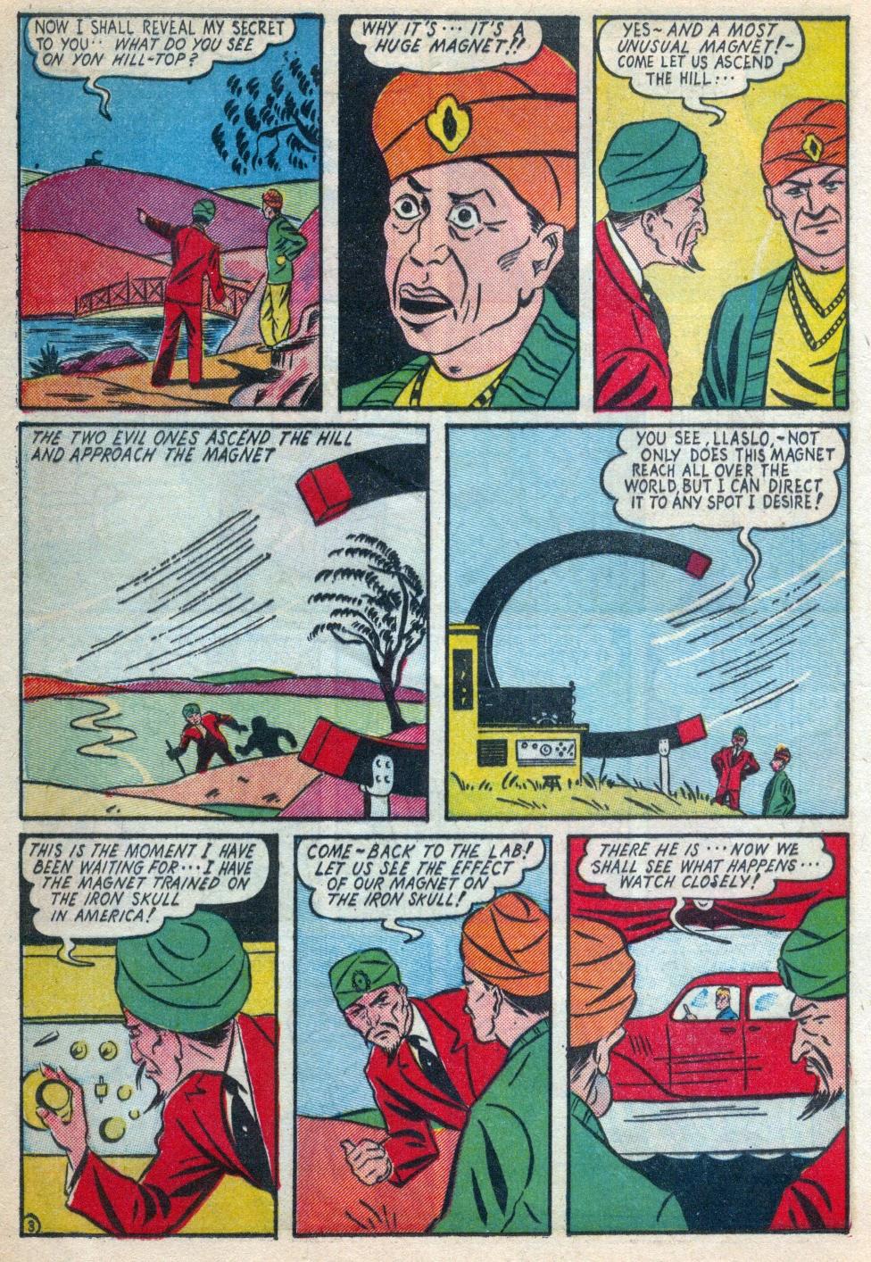 Read online Amazing Man Comics comic -  Issue #15 - 21