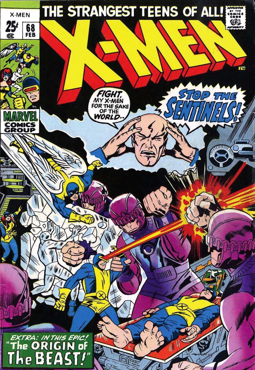 Uncanny X-Men (1963) 68 Page 1