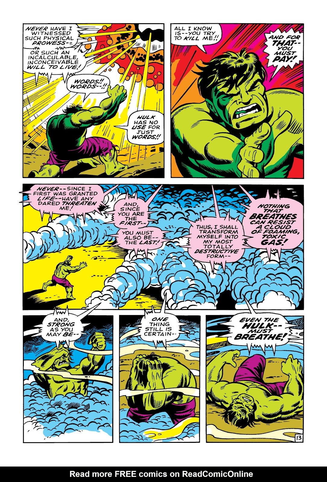 Read online Marvel Masterworks: The Incredible Hulk comic -  Issue # TPB 5 (Part 1) - 40