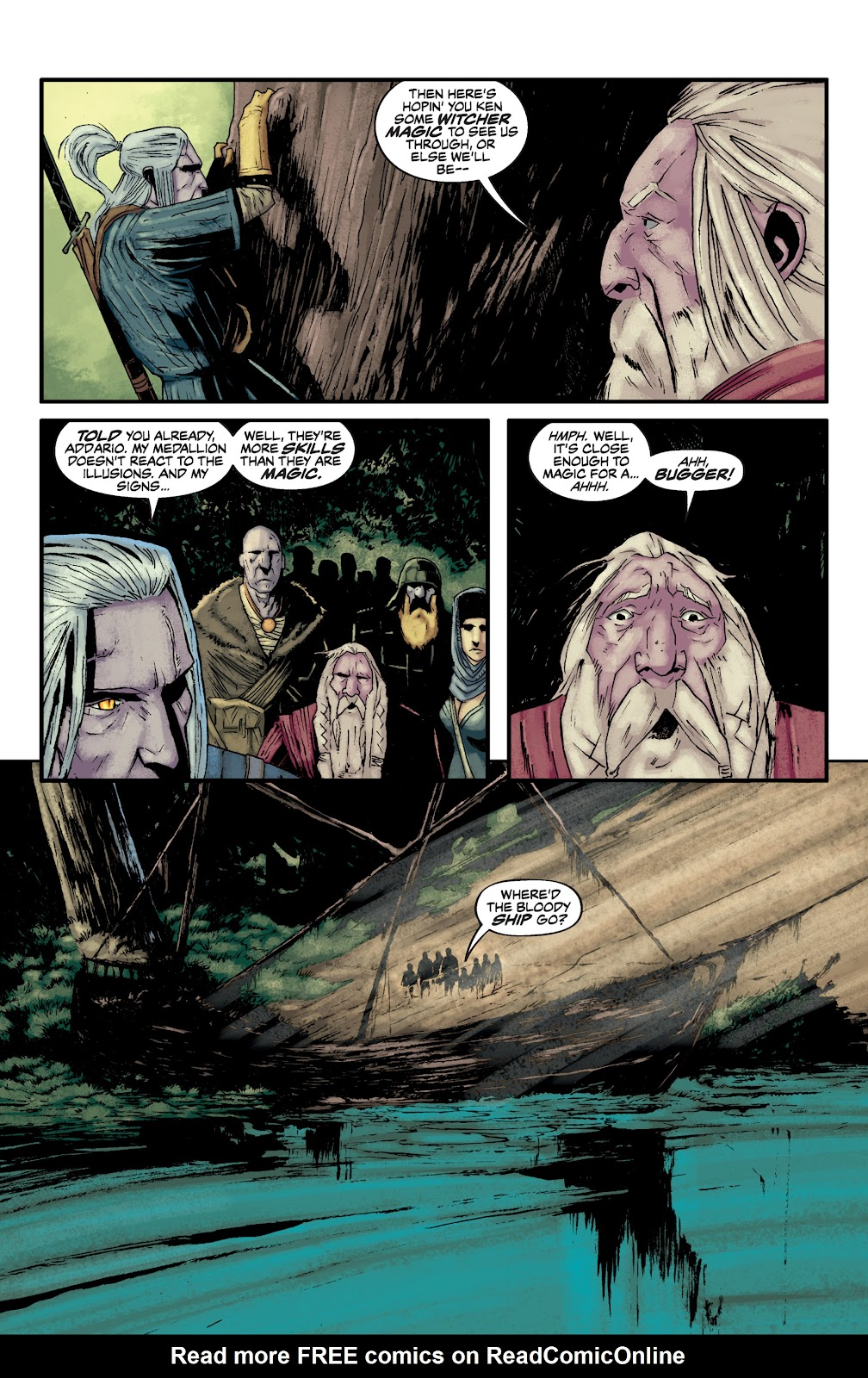 Read online The Witcher Omnibus comic -  Issue # TPB (Part 2) - 73