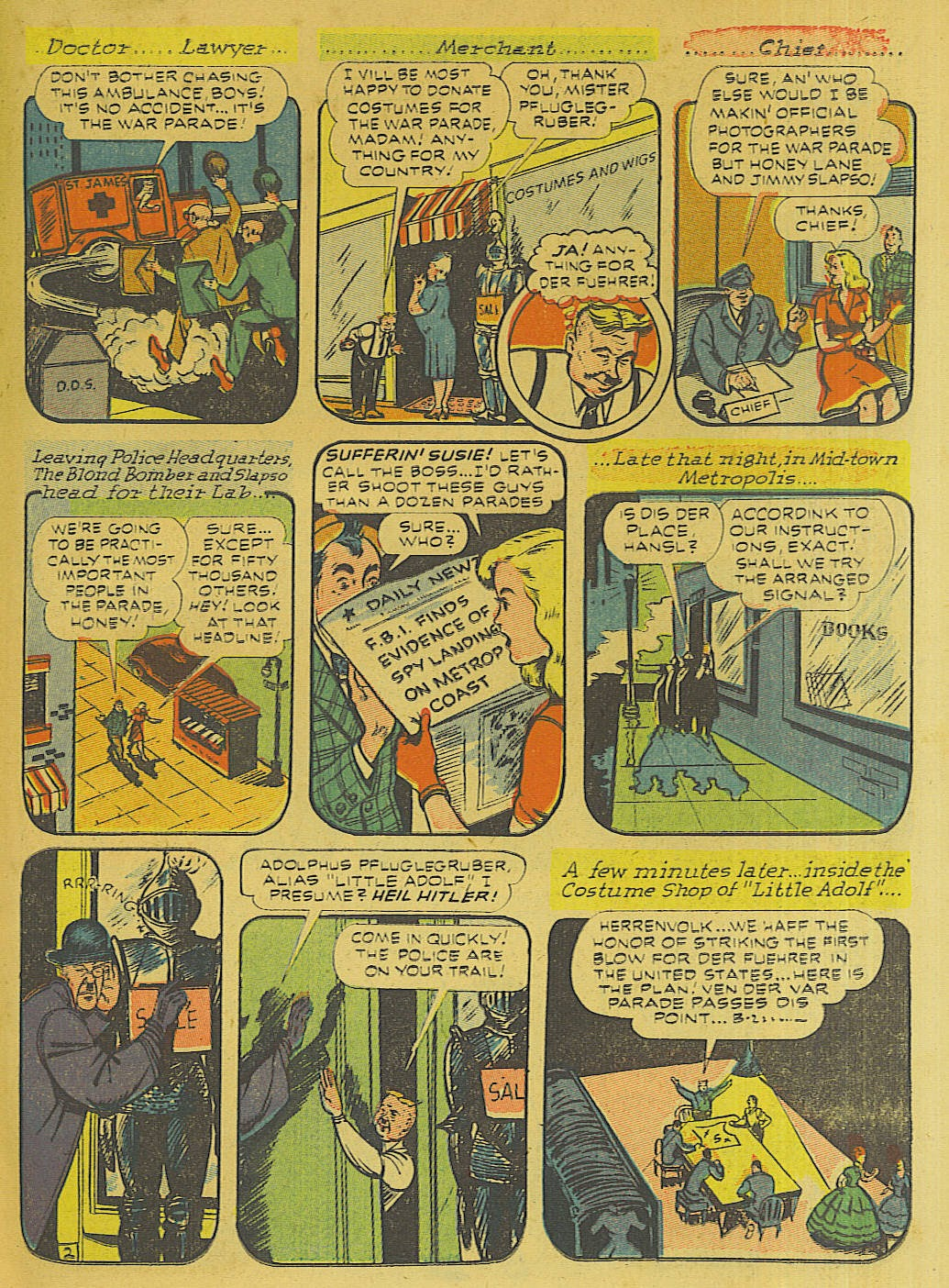 Green Hornet Comics issue 10 - Page 16