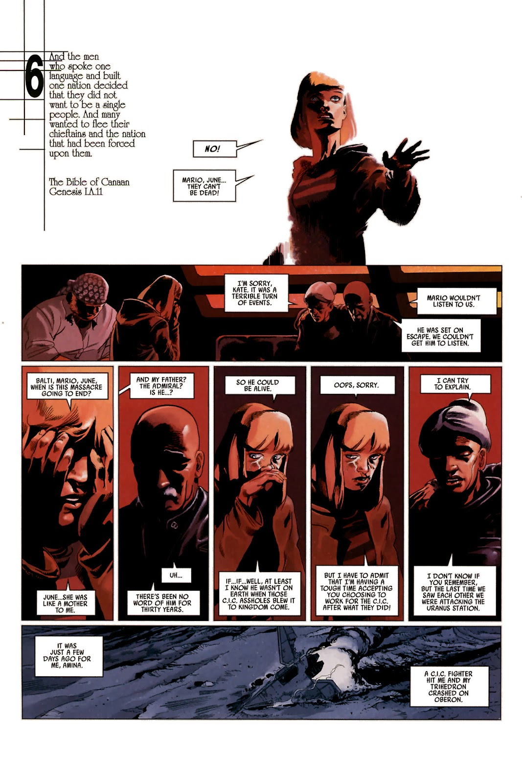 Read online Universal War One: Revelations comic -  Issue #2 - 40