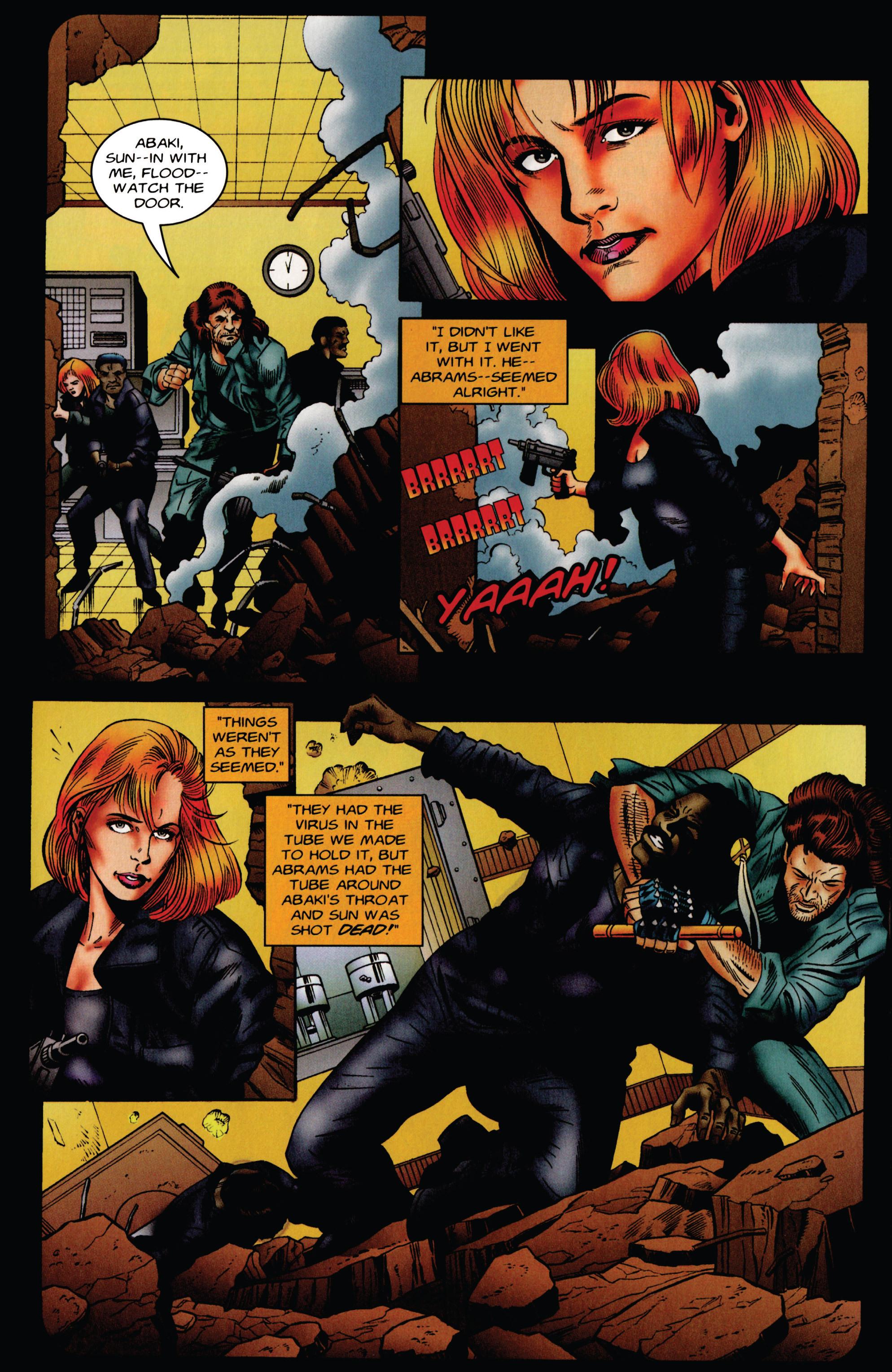 Read online Eternal Warrior (1992) comic -  Issue #49 - 13