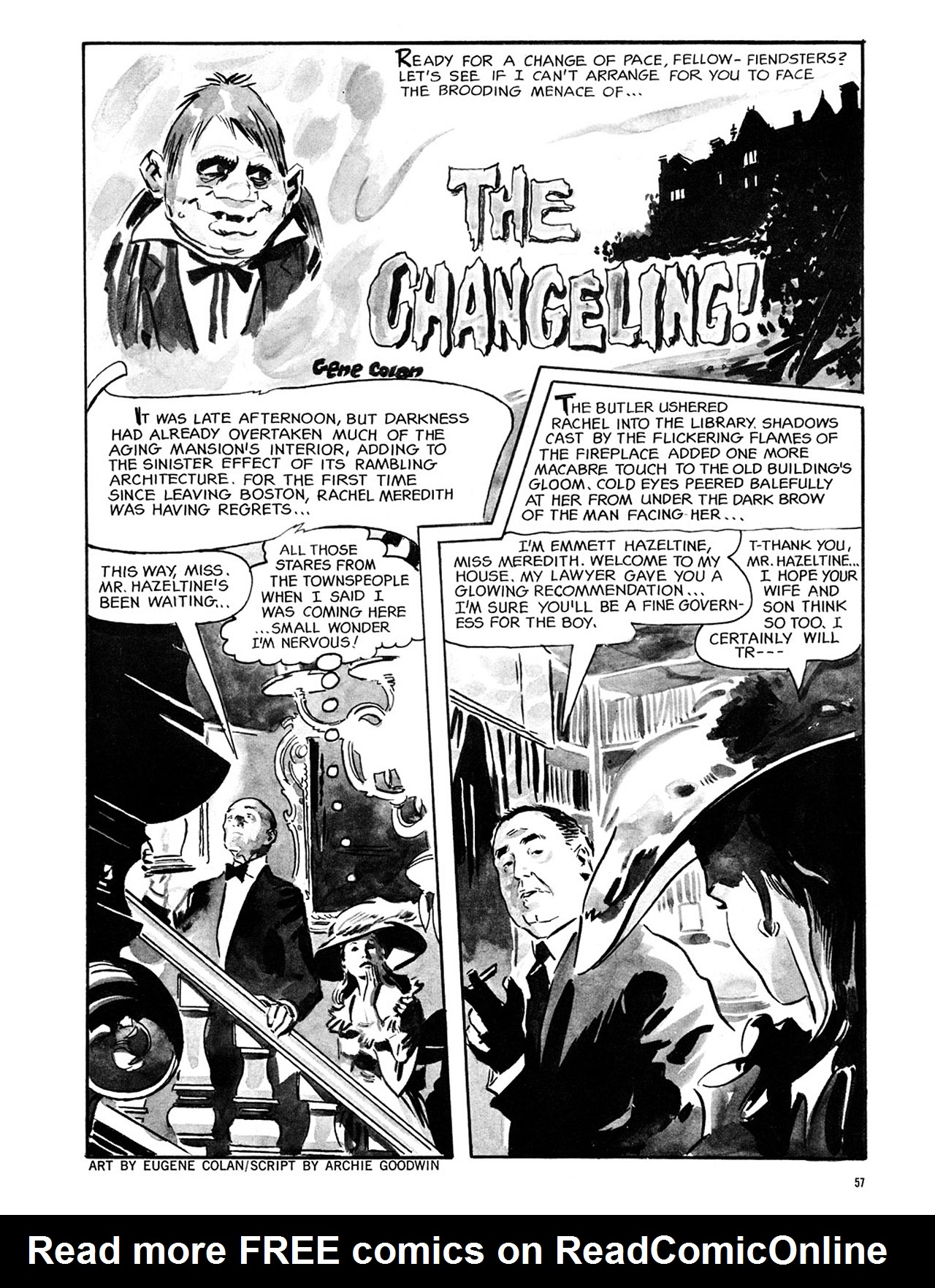 Read online Eerie Archives comic -  Issue # TPB 2 - 58