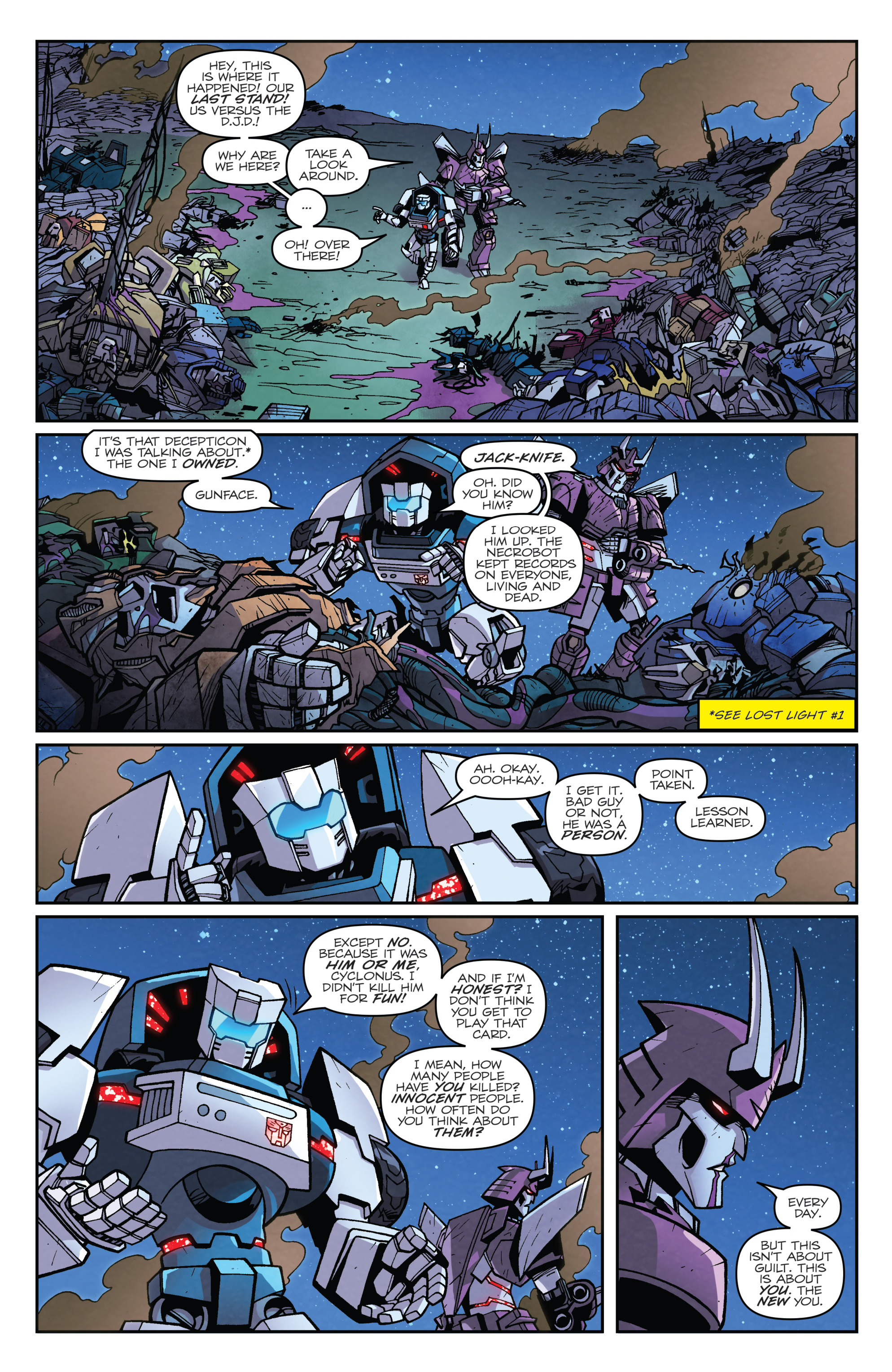 Read online Transformers: Lost Light comic -  Issue #2 - 15