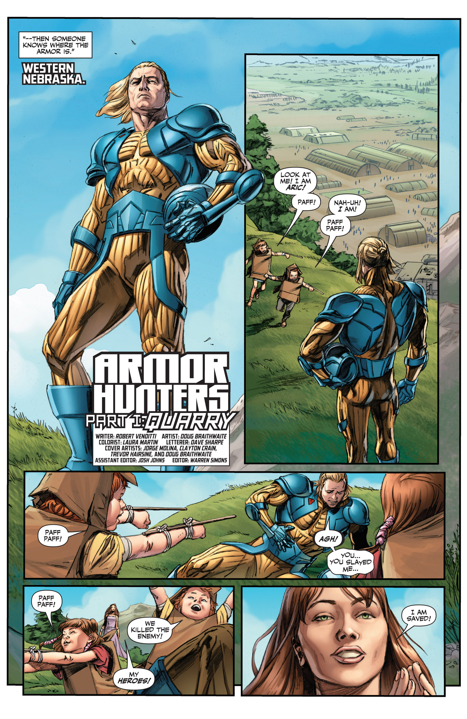 Read online Armor Hunters comic -  Issue #1 - 9