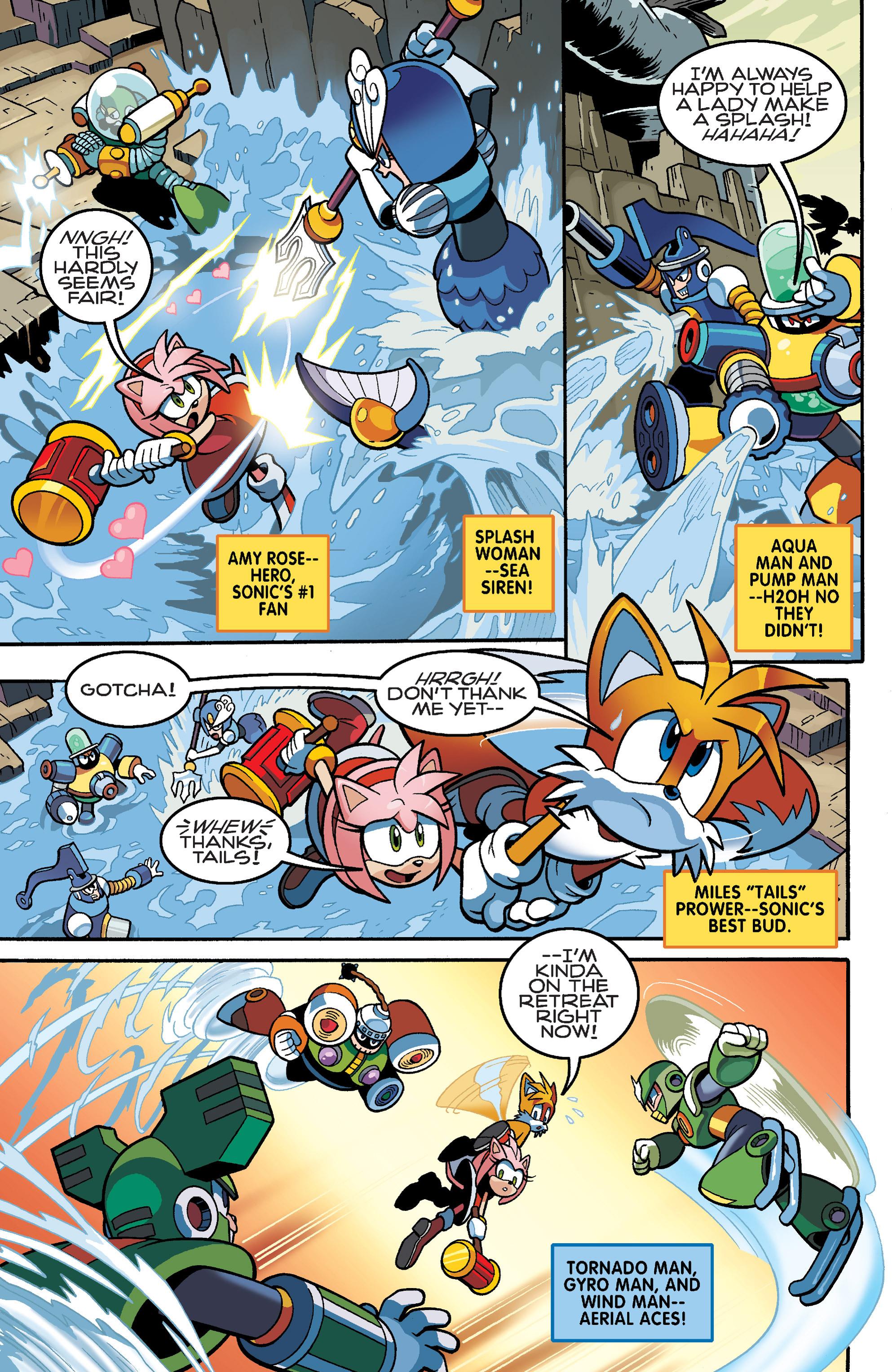 Read online Sonic Mega Man Worlds Collide comic -  Issue # Vol 3 - 22