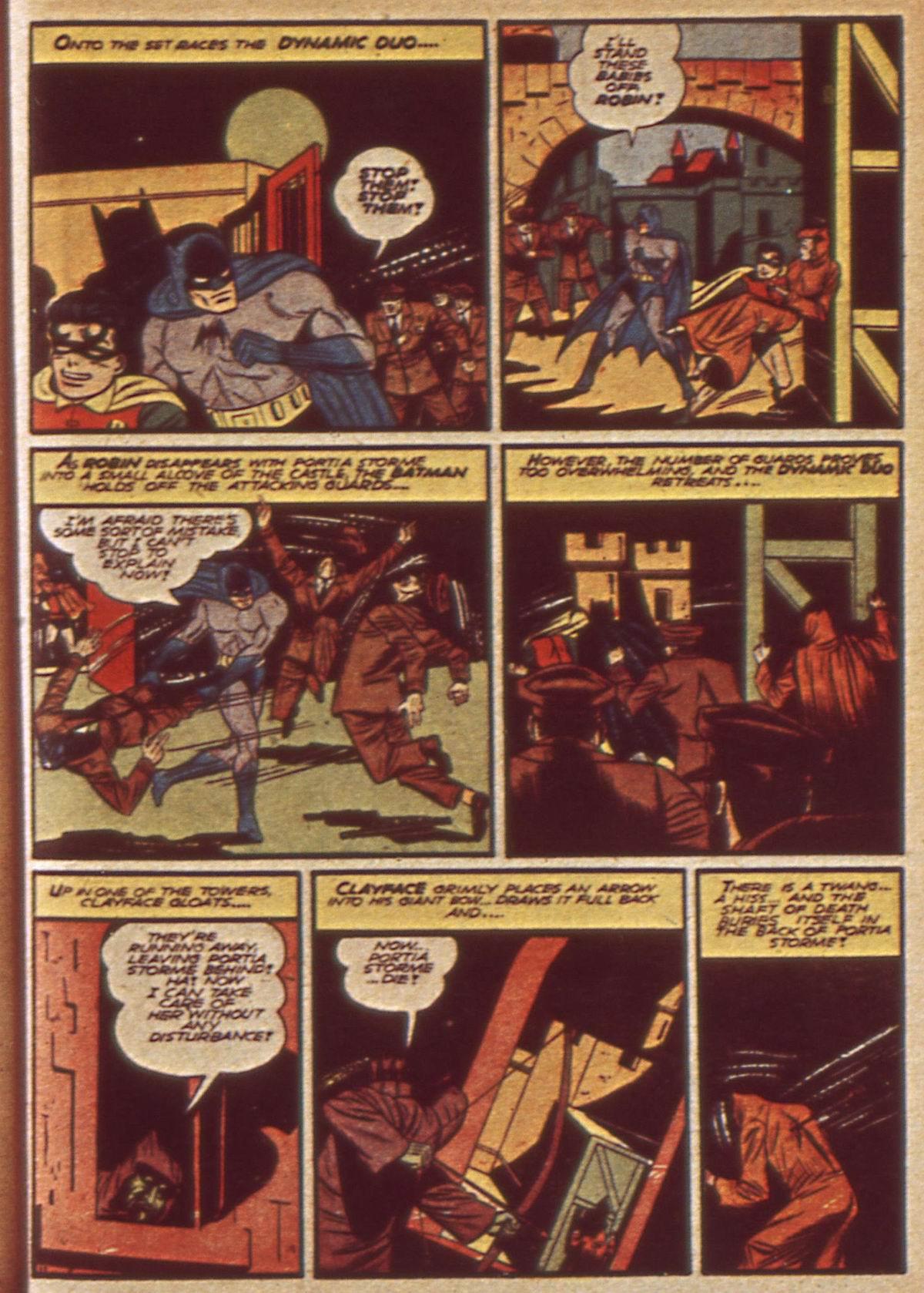 Read online Detective Comics (1937) comic -  Issue #49 - 13