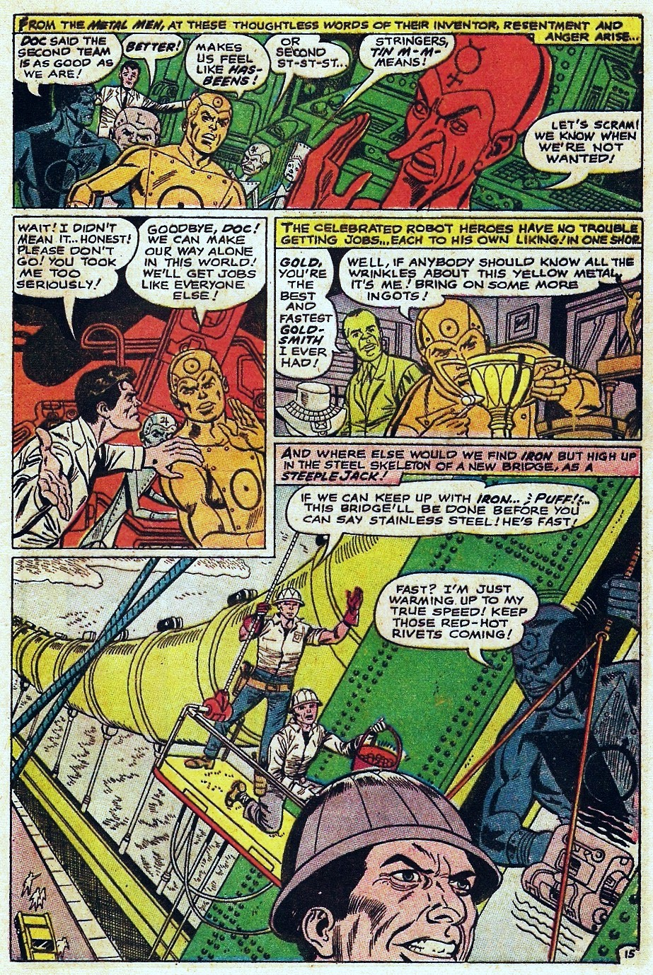 Metal Men (1963) issue 31 - Page 21