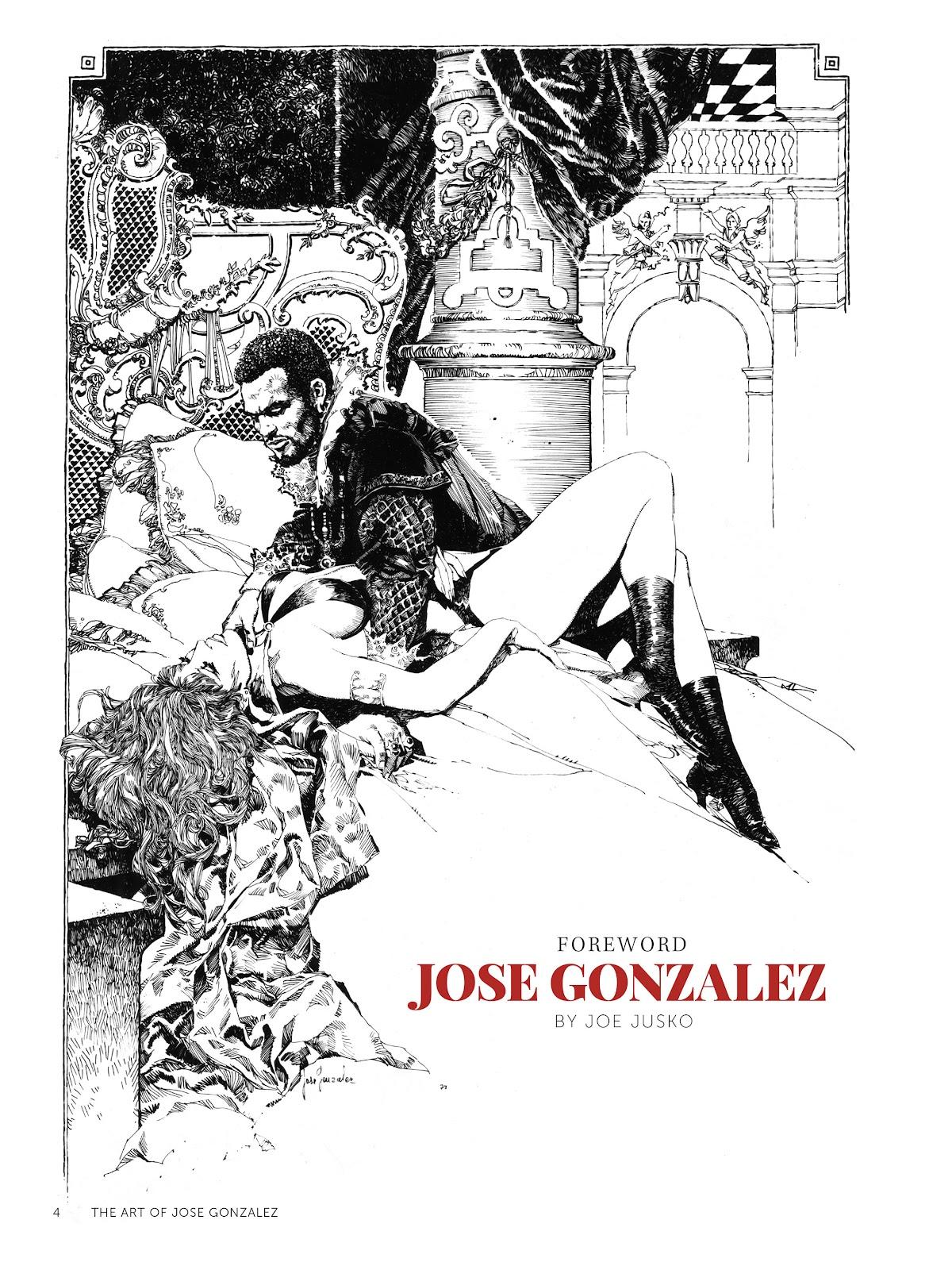 Read online The Art of Jose Gonzalez comic -  Issue # TPB (Part 1) - 5