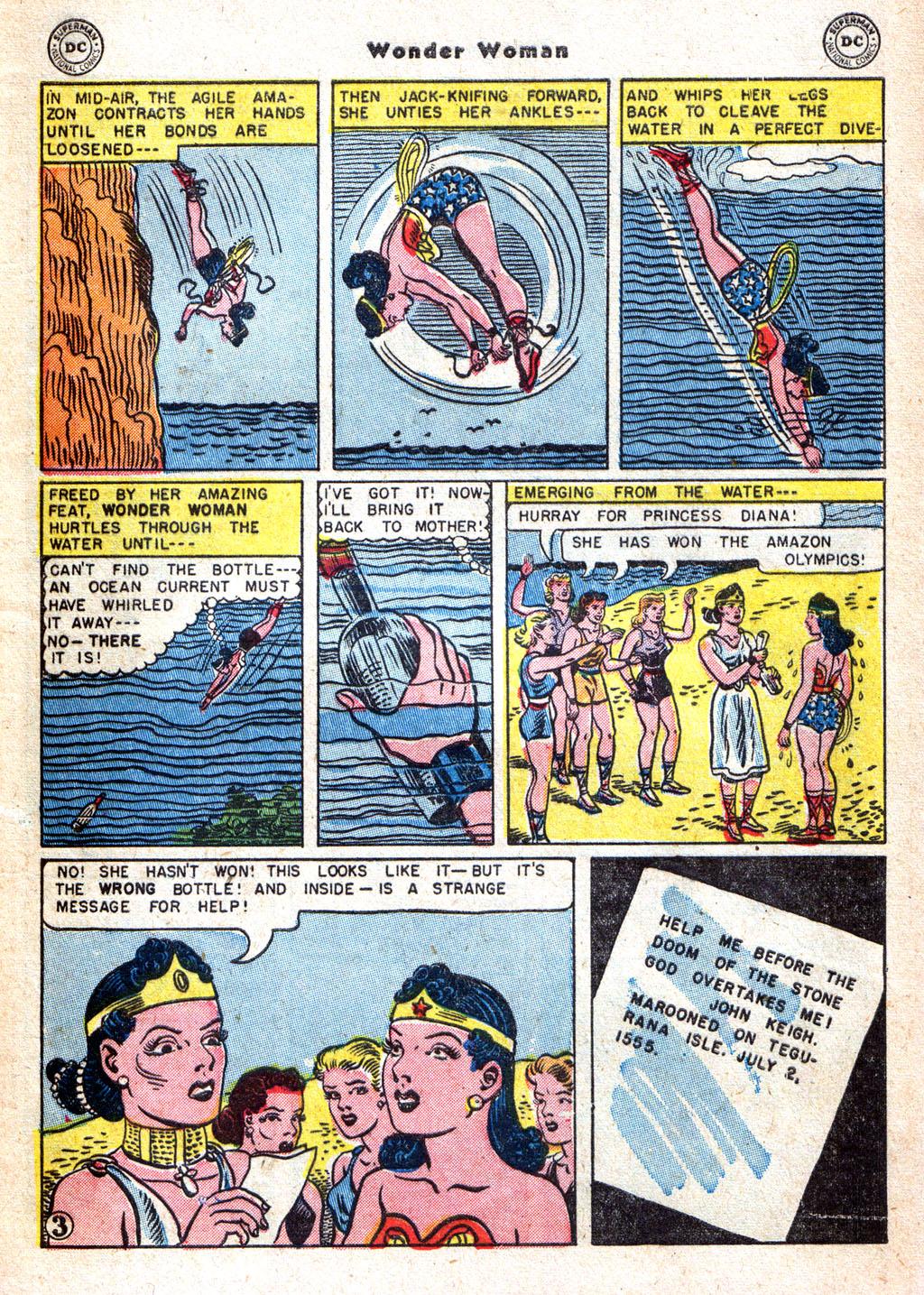 Read online Wonder Woman (1942) comic -  Issue #72 - 5