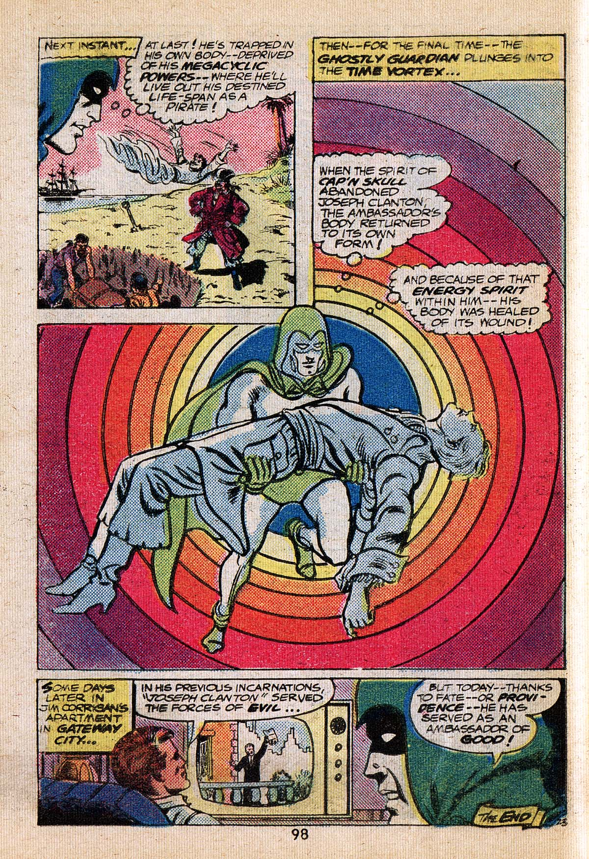 Read online Adventure Comics (1938) comic -  Issue #494 - 98