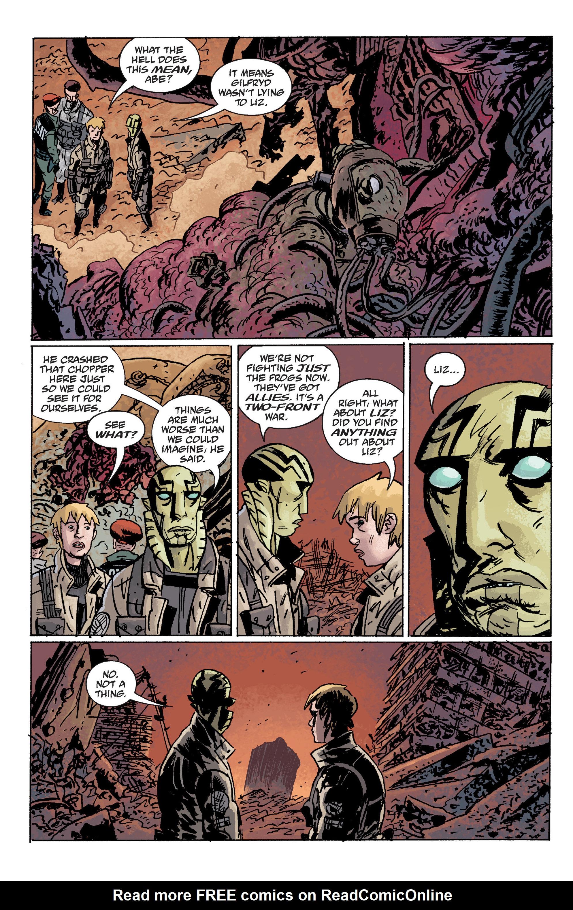 Read online B.P.R.D. (2003) comic -  Issue # TPB 10 - 126