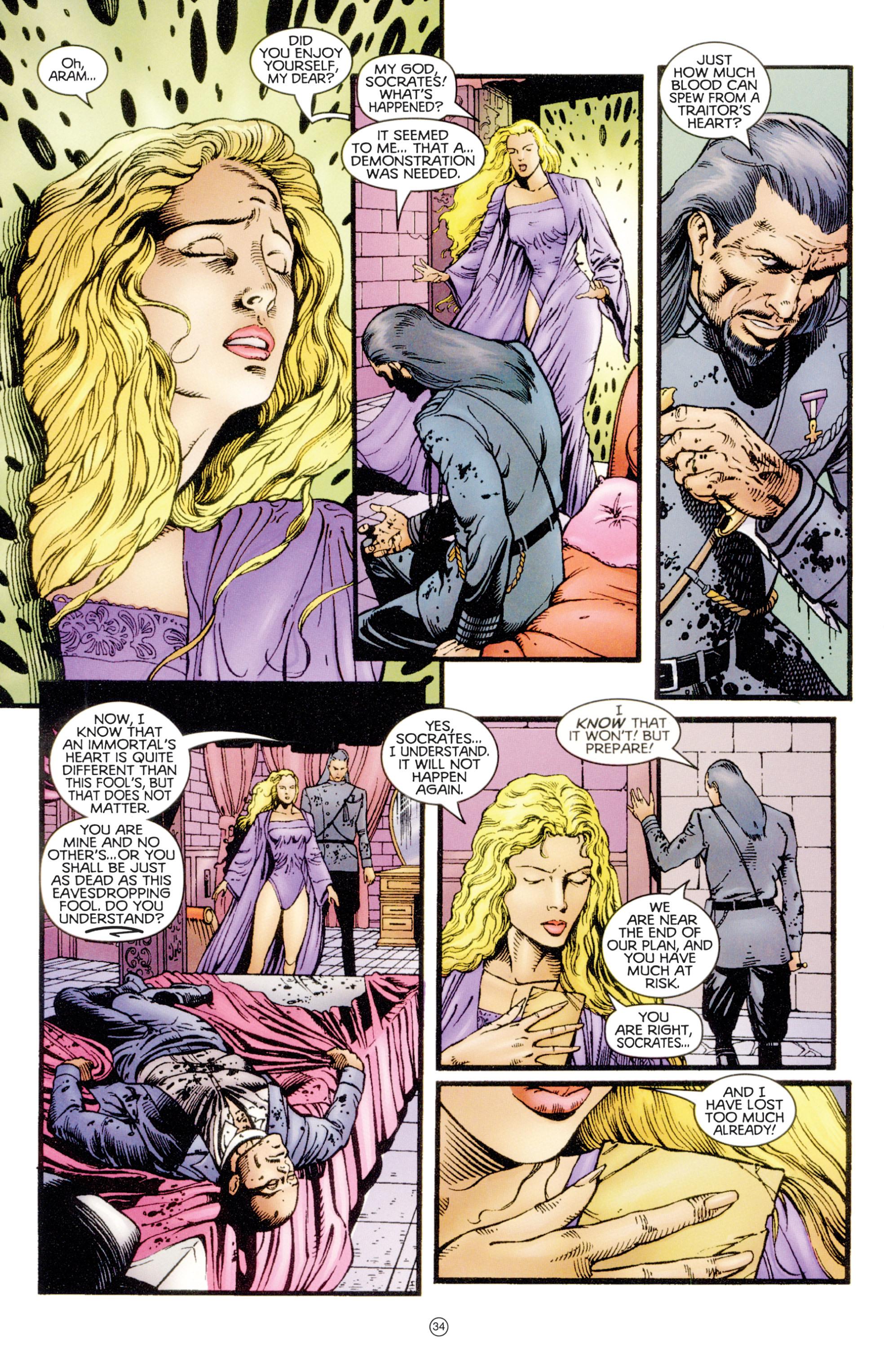 Read online Eternal Warriors comic -  Issue # Issue Digital Alchemy - 31
