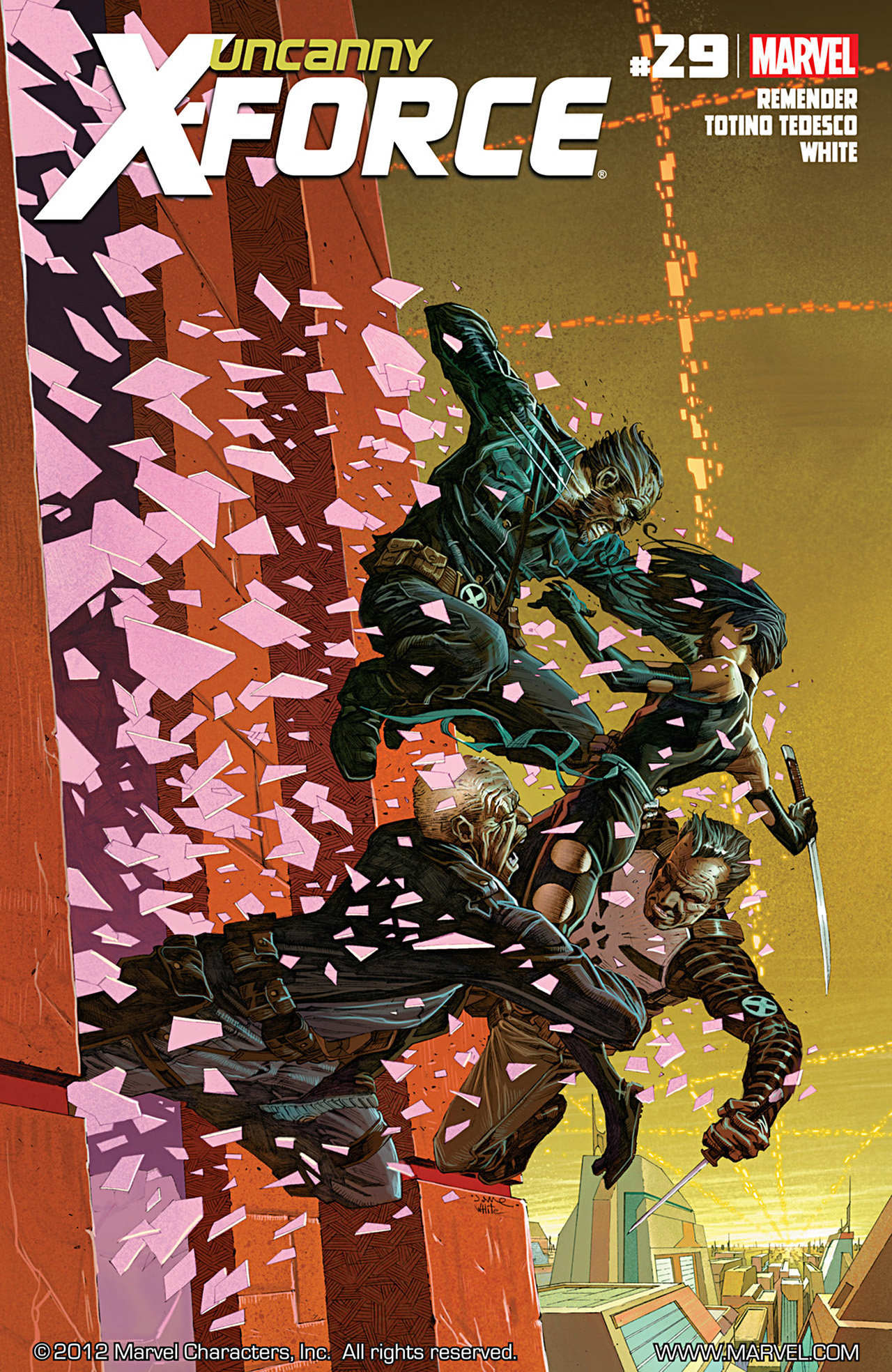 Uncanny X-Force (2010) #29 #31 - English 1