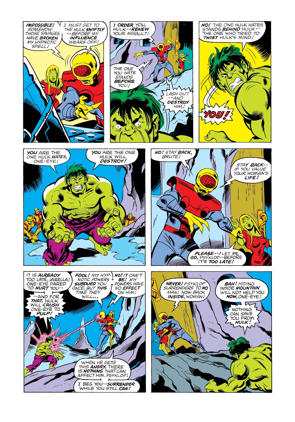 Read online Marvel Masterworks: The Incredible Hulk comic -  Issue # TPB 12 (Part 2) - 68