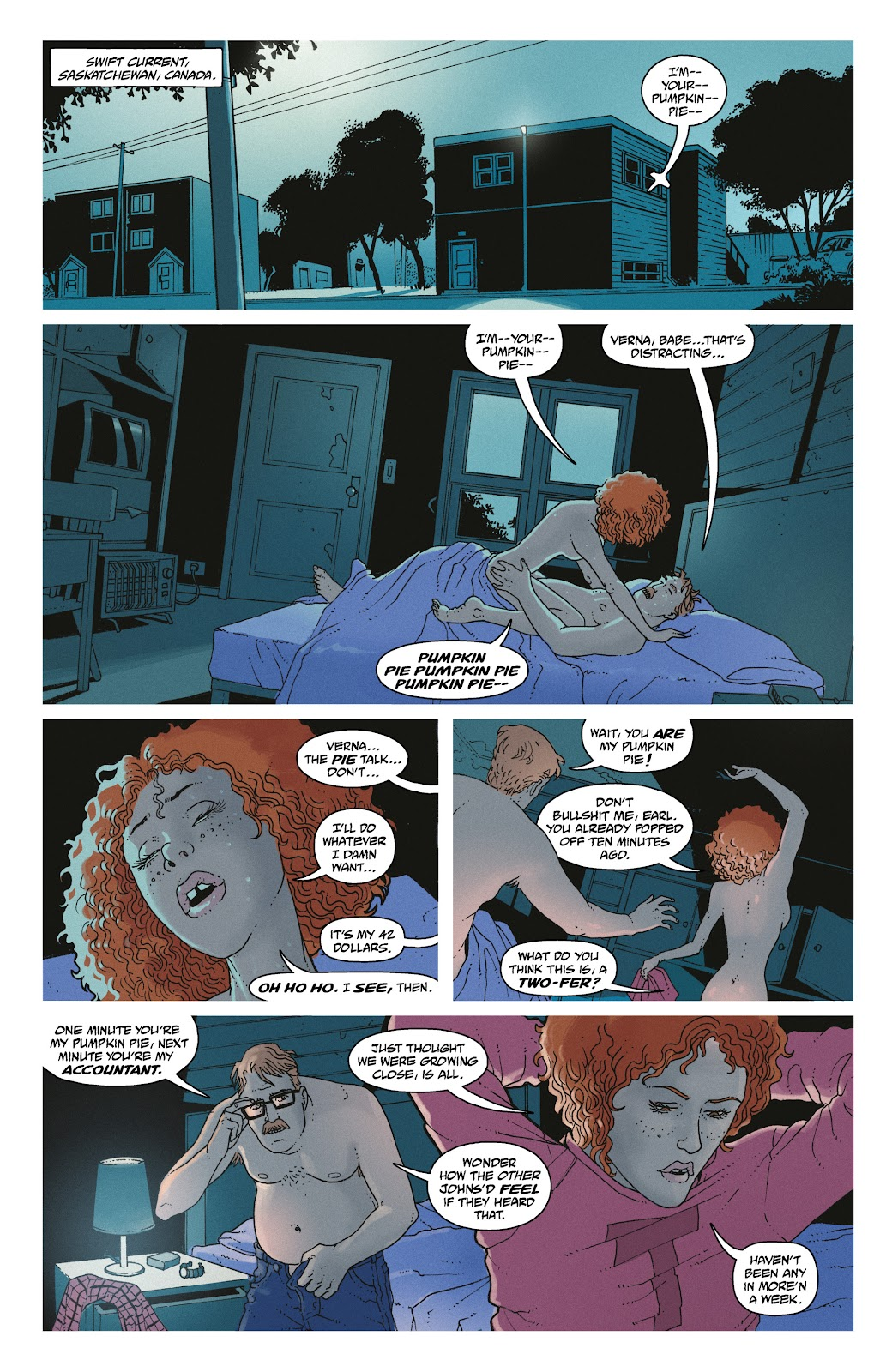 Read online She Could Fly comic -  Issue # _TPB - 20
