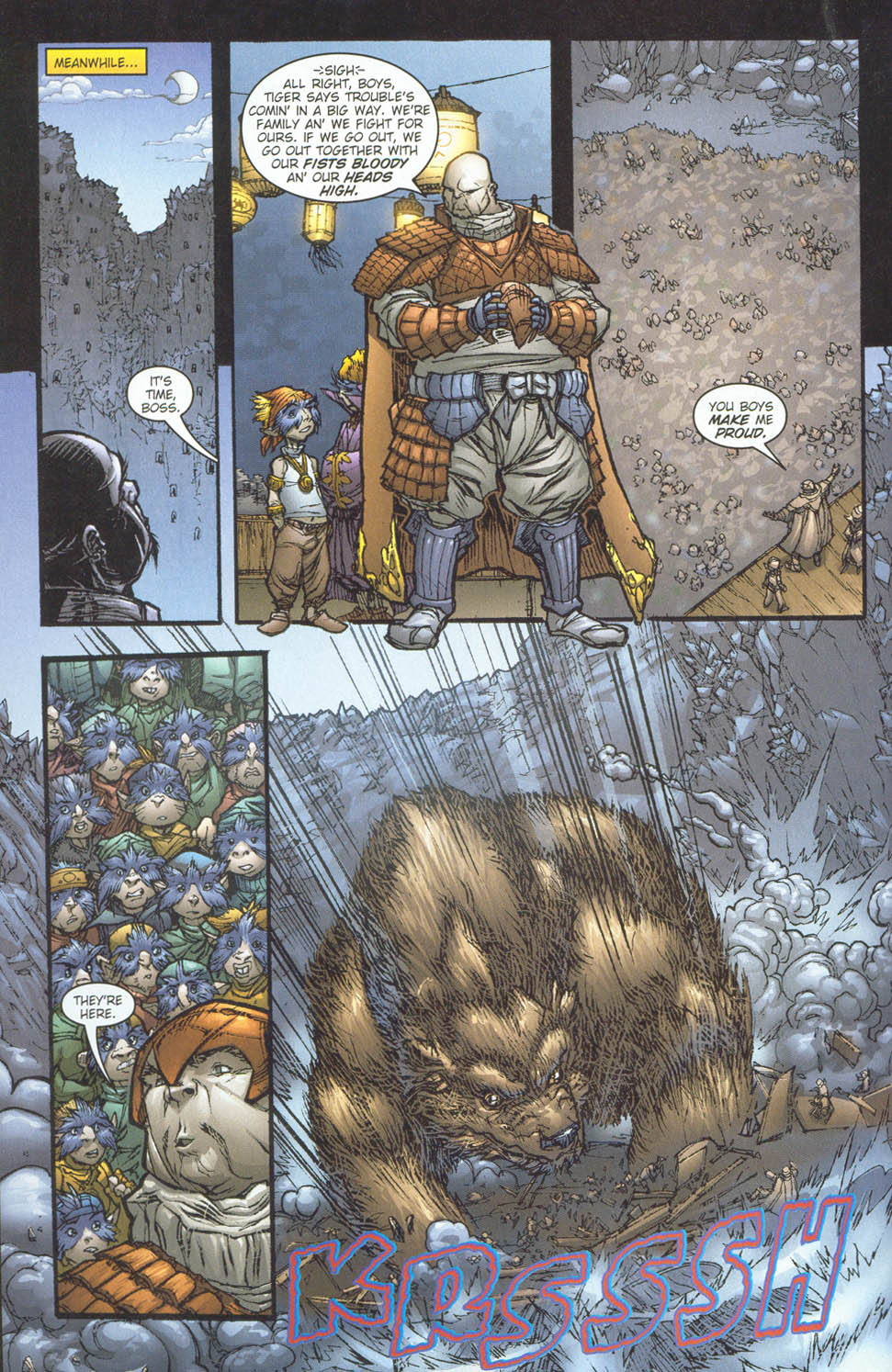 Read online Ninja Boy comic -  Issue #5 - 12