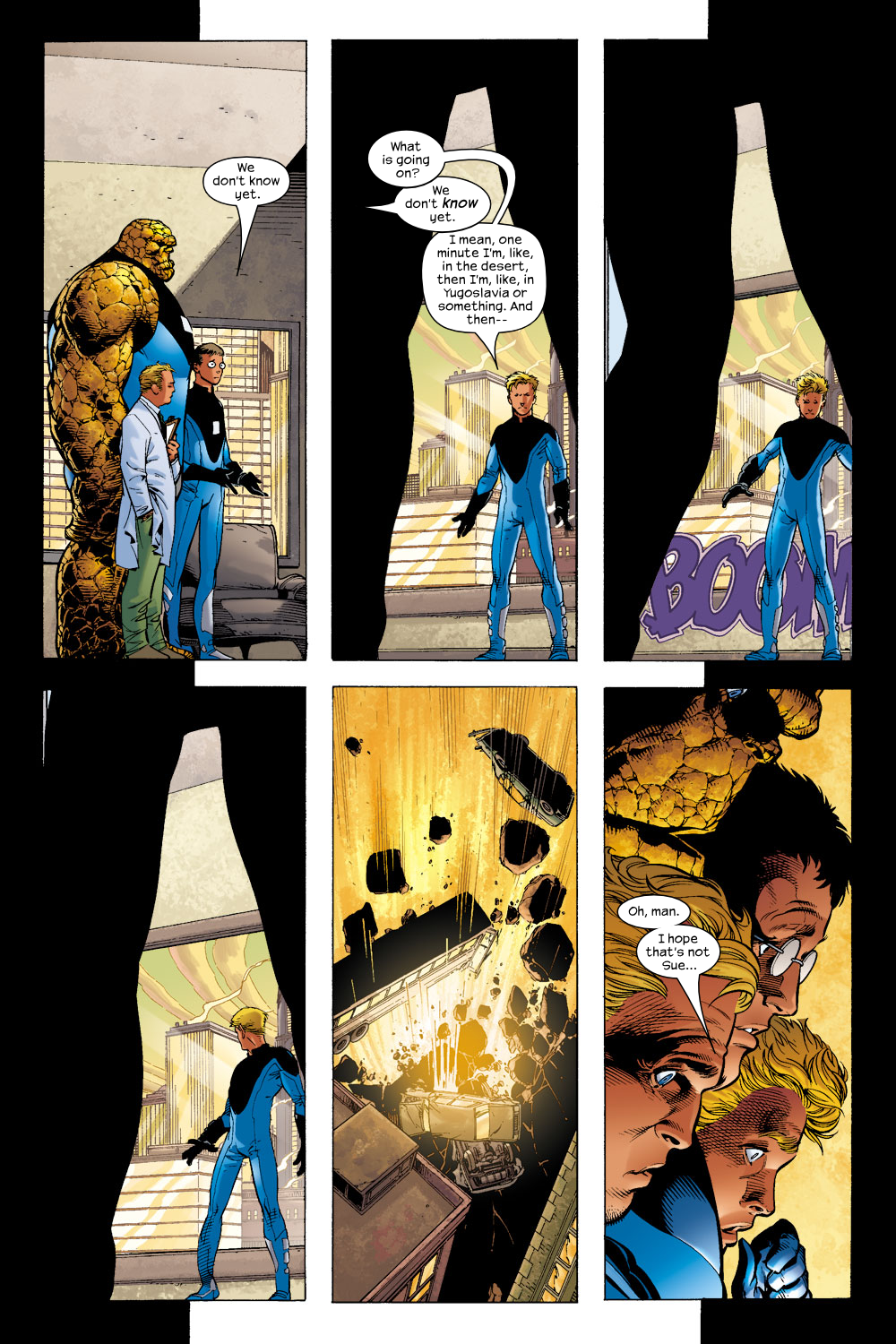 Read online Ultimate Fantastic Four (2004) comic -  Issue #4 - 15