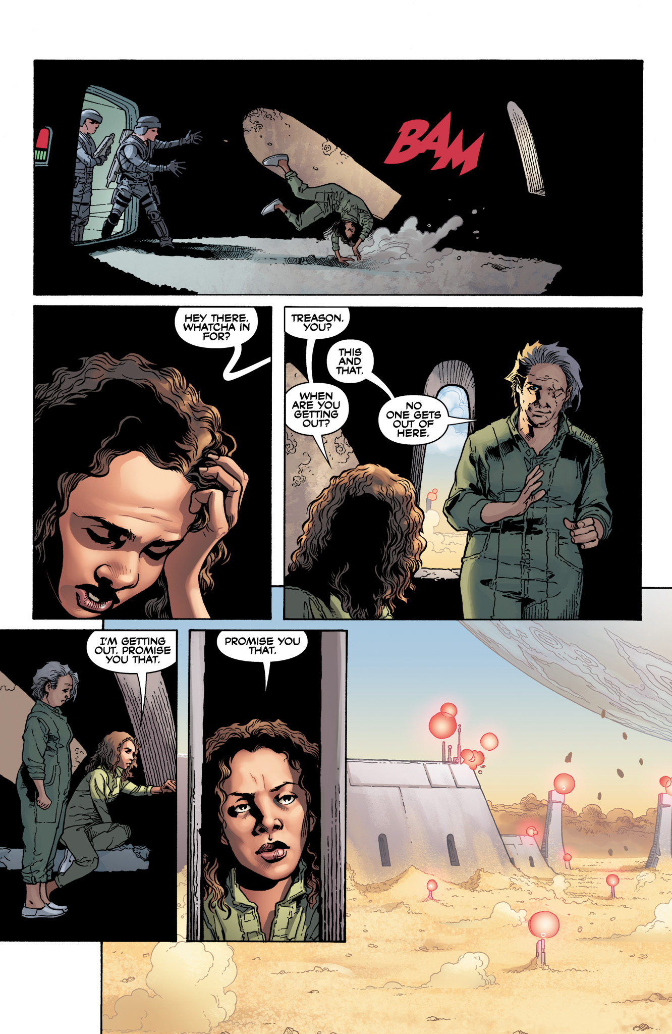 Read online Serenity: Firefly Class 03-K64  Leaves on the Wind comic -  Issue #3 - 22