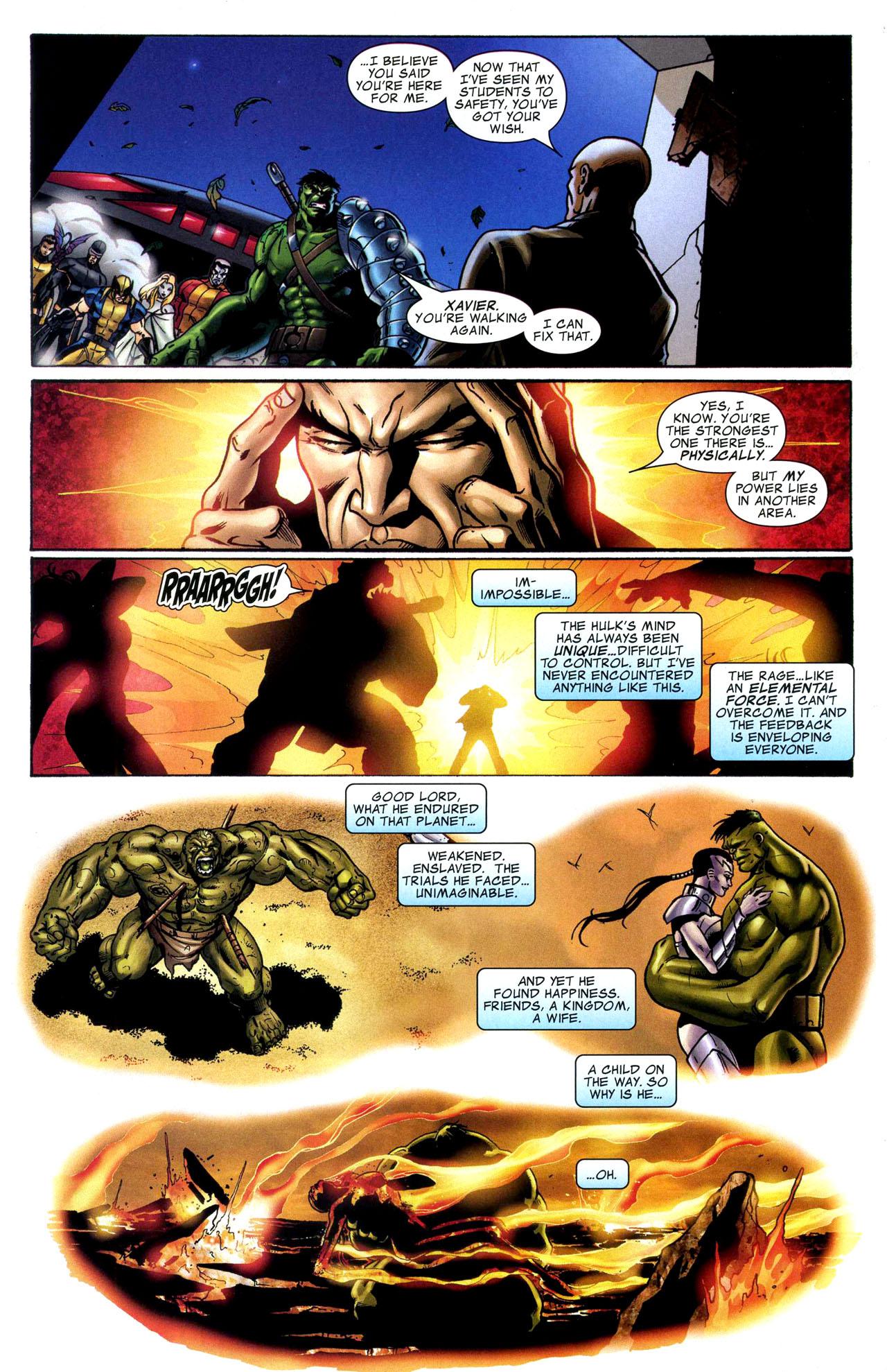 Read online World War Hulk: X-Men comic -  Issue #1 - 22