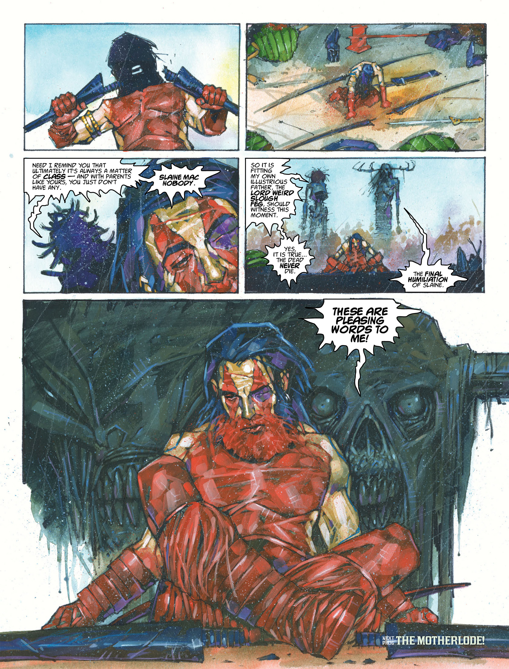 Read online 2000 AD comic -  Issue #1987 - 14