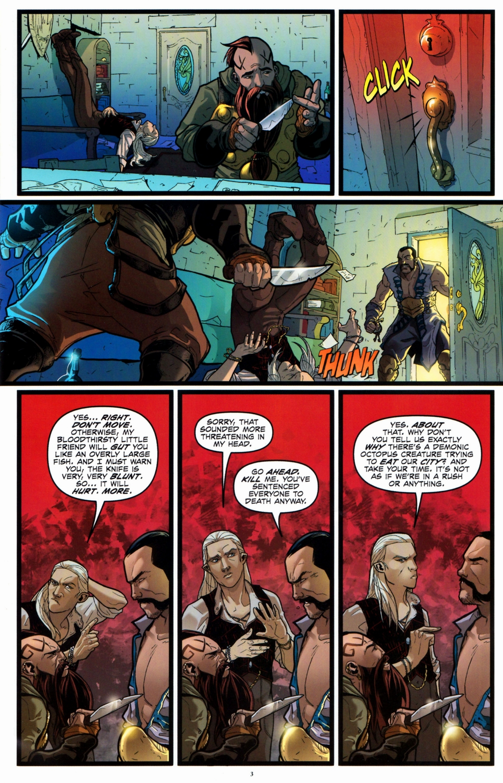 Read online Infestation 2: Dungeons & Dragons comic -  Issue #2 - 5