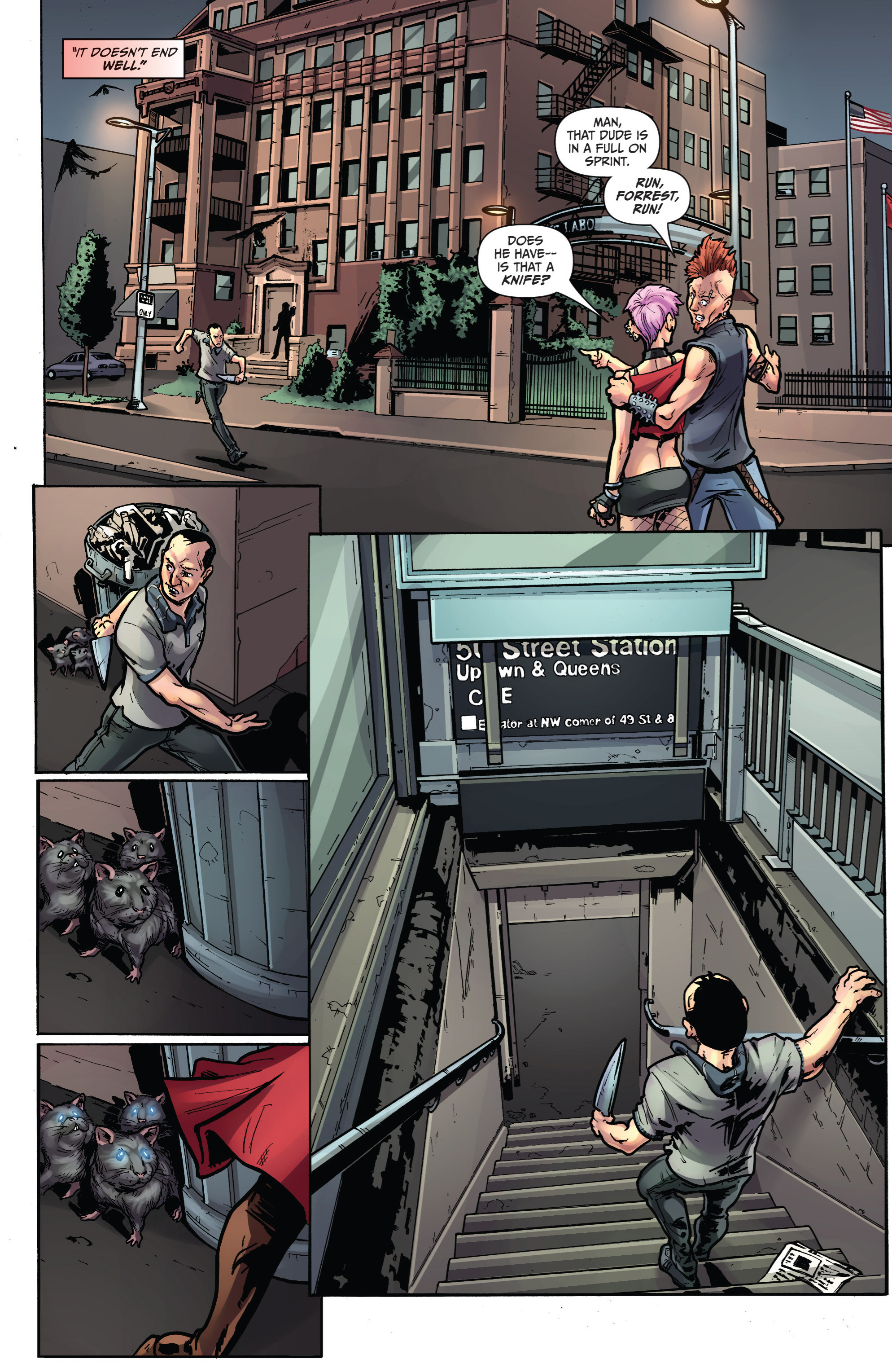 Read online Grimm Fairy Tales presents Grimm Universe comic -  Issue # TPB - 83