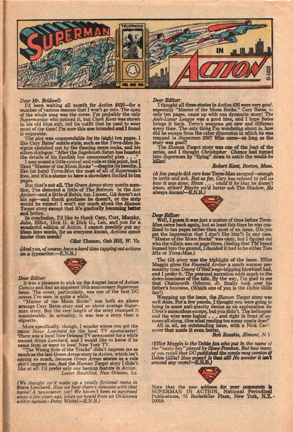 Read online Action Comics (1938) comic -  Issue #430 - 32