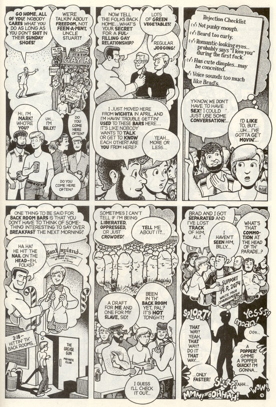 Gay Comix (Gay Comics) issue 1 - Page 28
