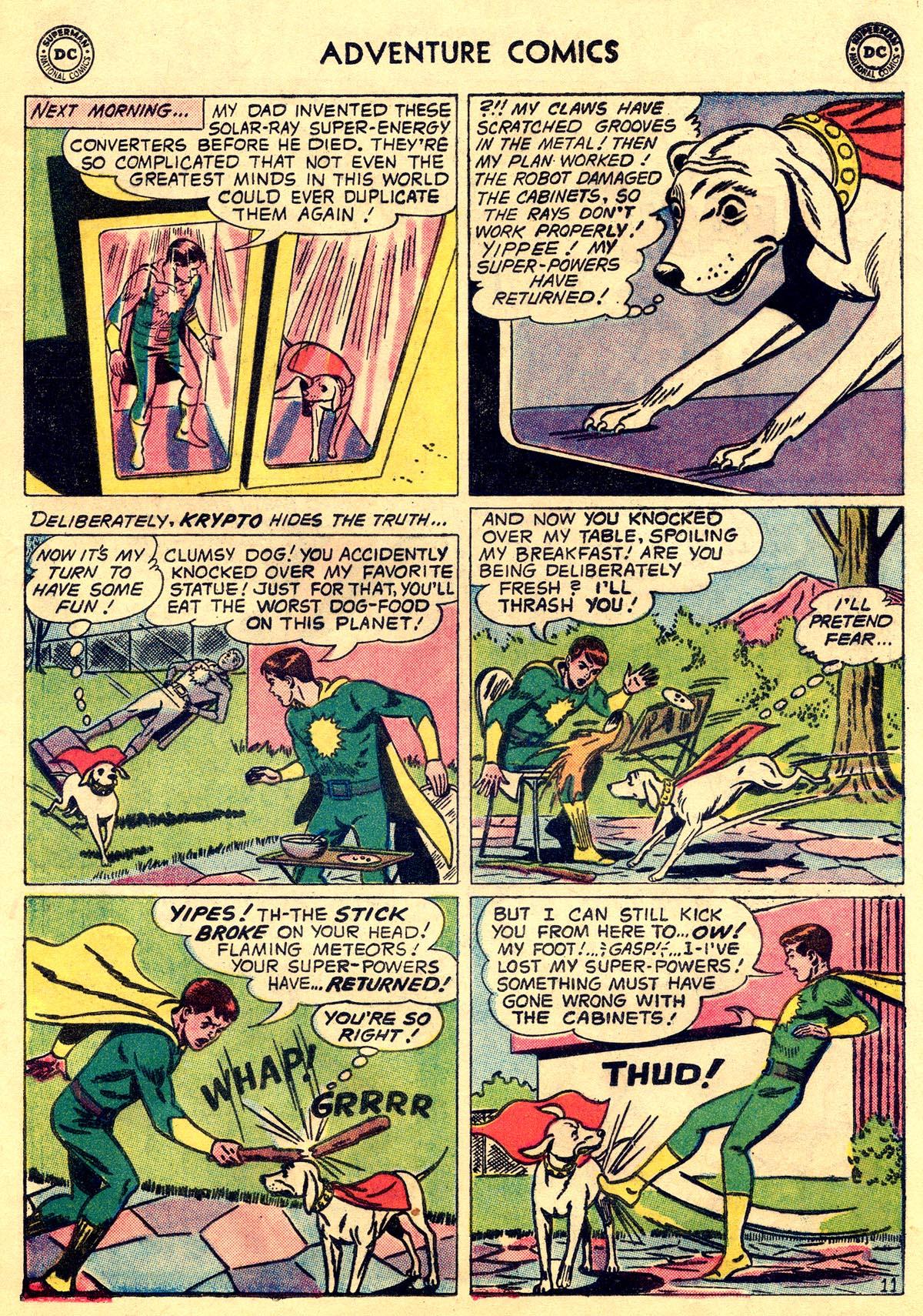 Read online Adventure Comics (1938) comic -  Issue #269 - 13