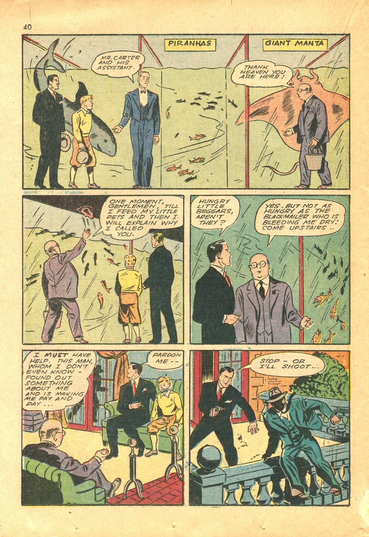 Read online Shadow Comics comic -  Issue #24 - 32