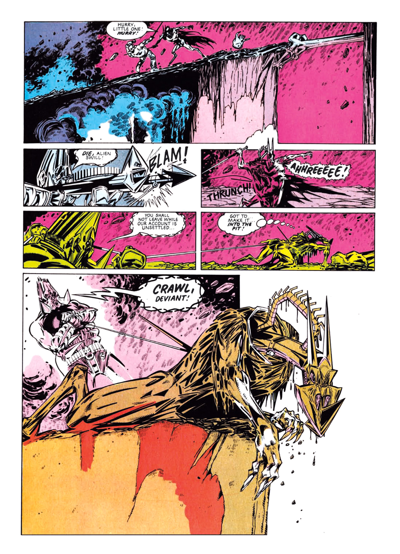 Read online Nemesis The Warlock comic -  Issue # TPB Deviant Edition - 91