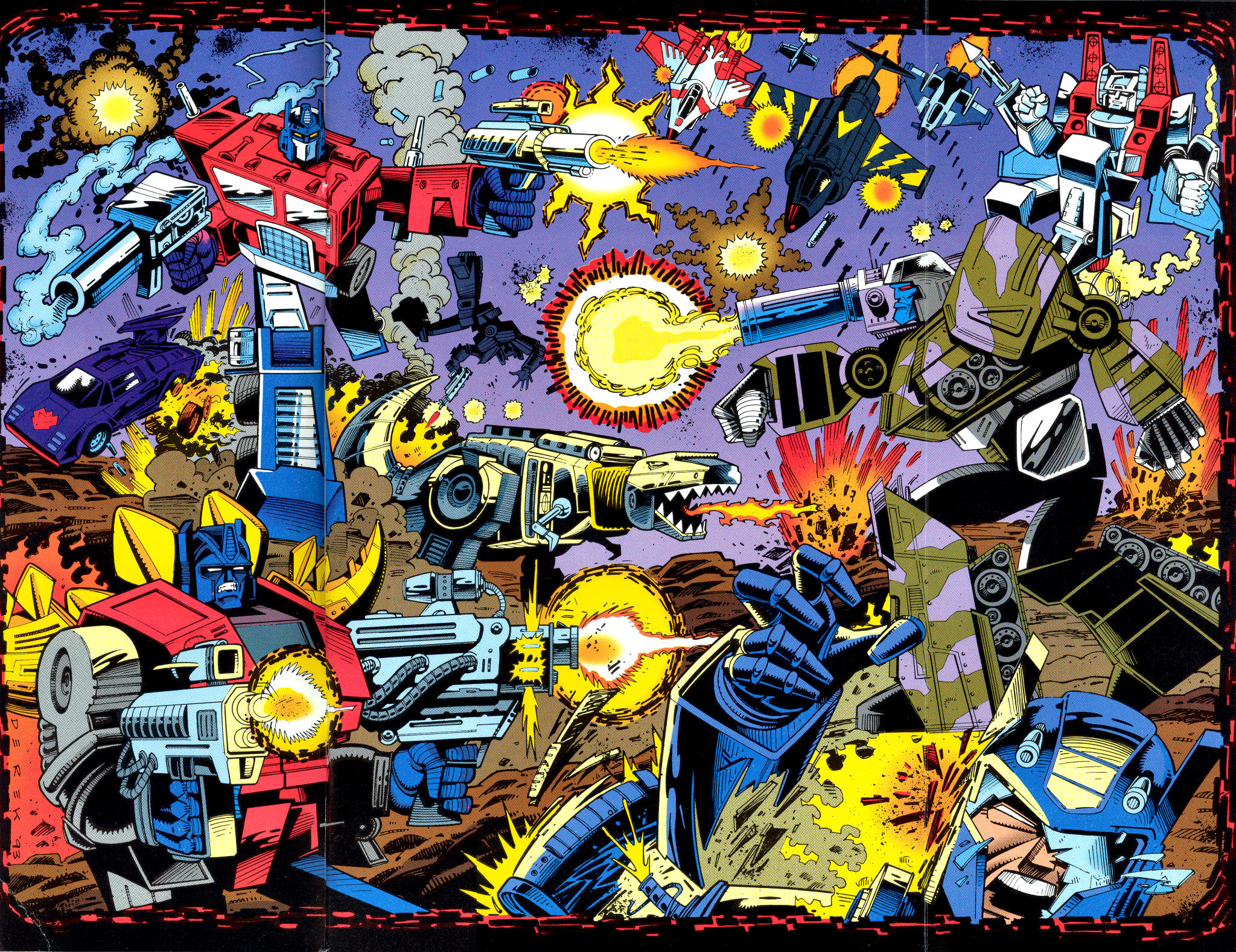 Read online Transformers: Generation 2 comic -  Issue #1 - 2